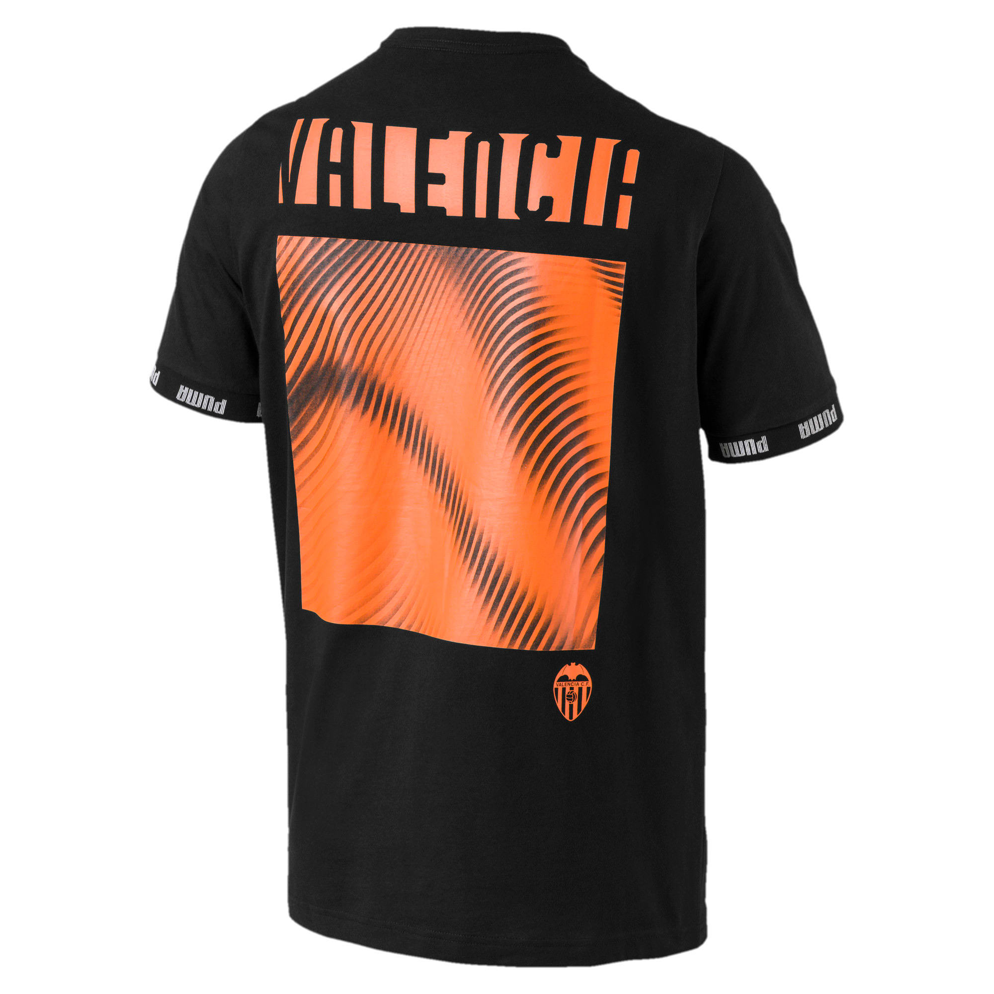 Thumbnail 2 of Valencia CF Football Culture Men's Tee, Puma Black, medium