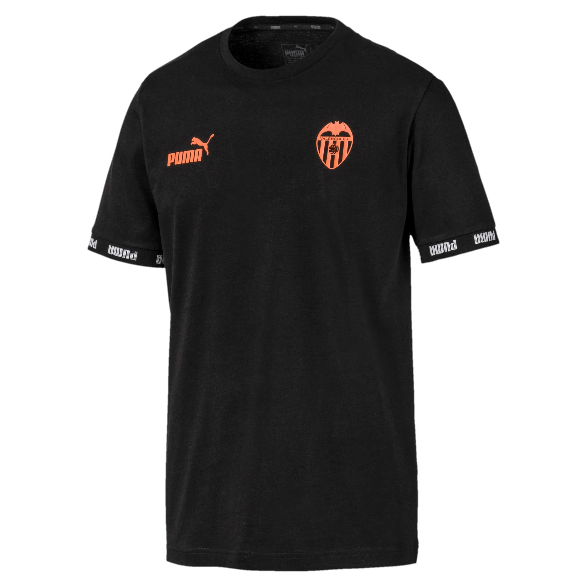 Thumbnail 1 of Valencia CF Football Culture Men's Tee, Puma Black, medium