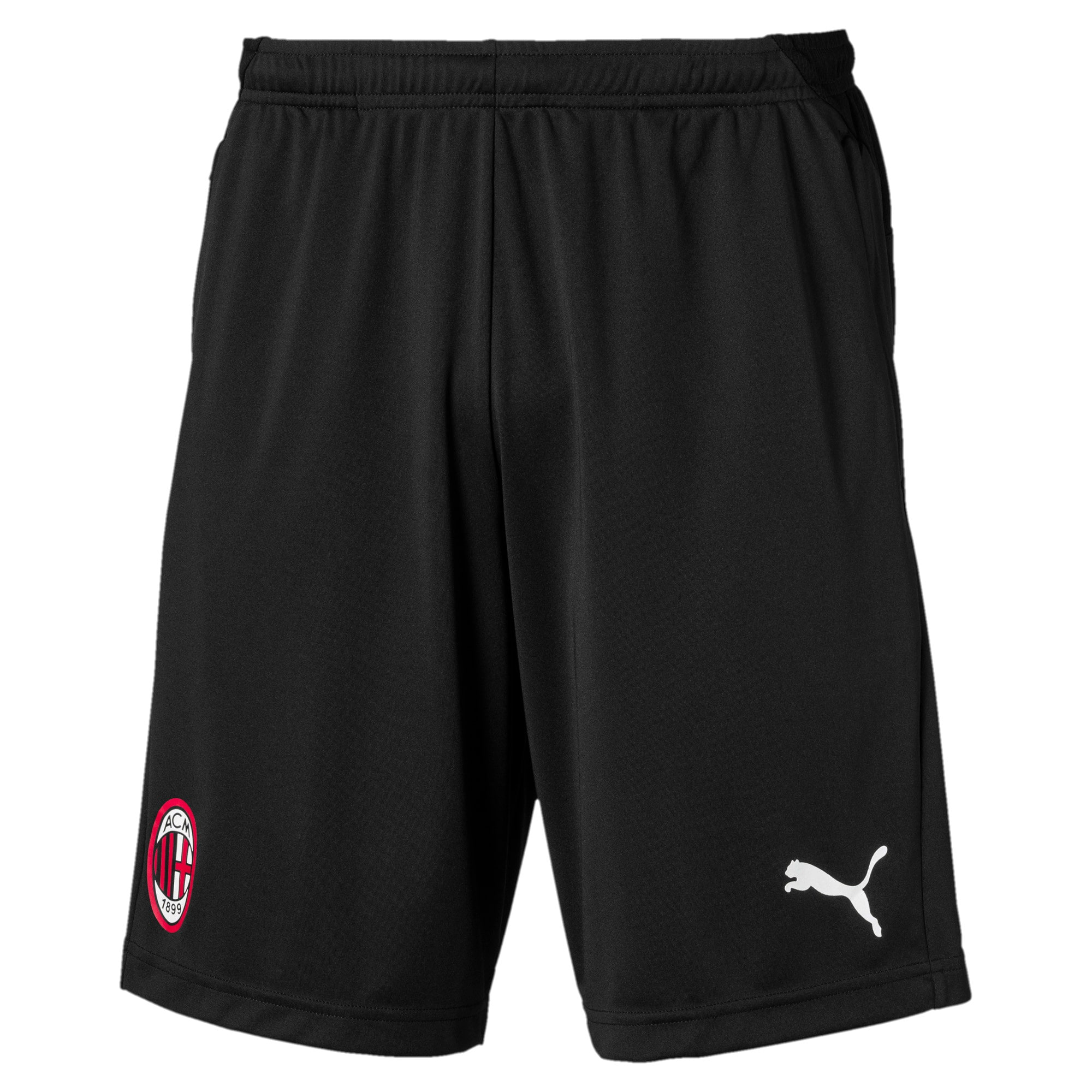 Thumbnail 4 of AC Milan Men's Training Shorts, Puma Black, medium