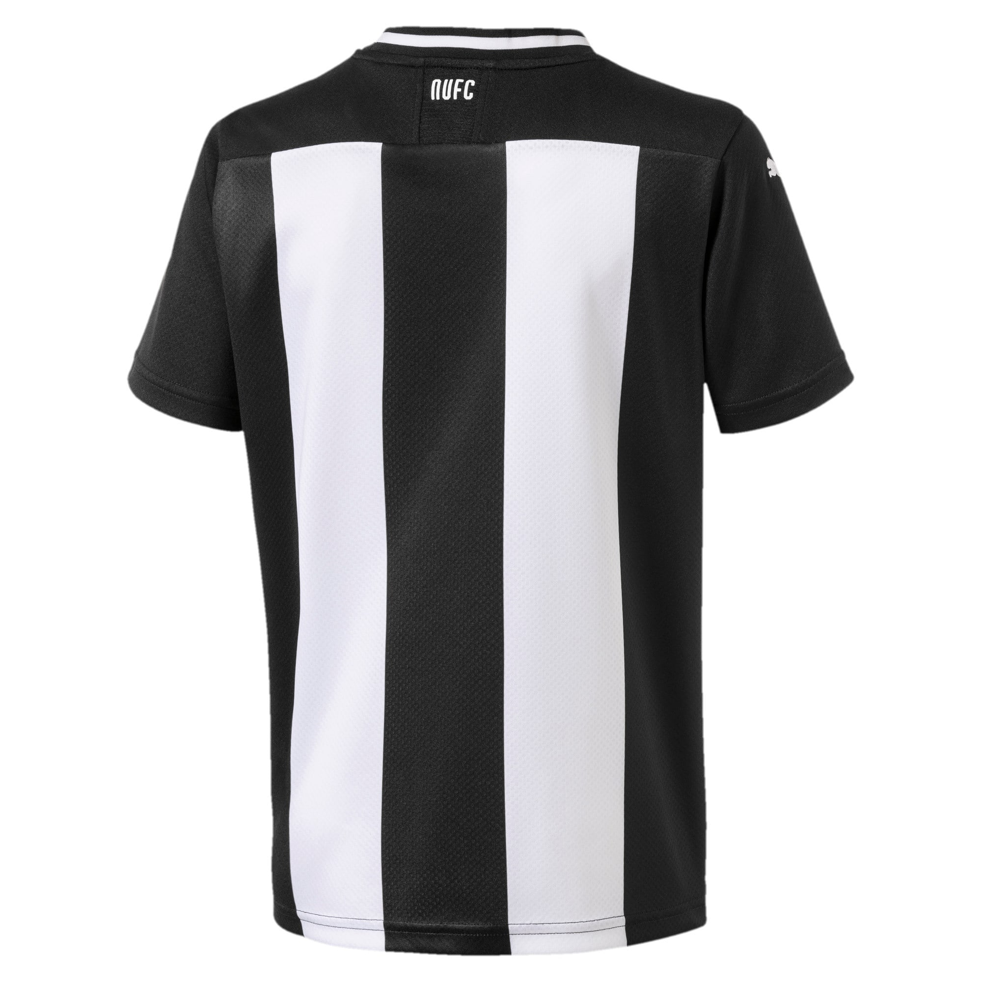 Thumbnail 2 of Newcastle United FC Kids' Replica Home Short Sleeve Jersey, Puma White-Puma Black, medium