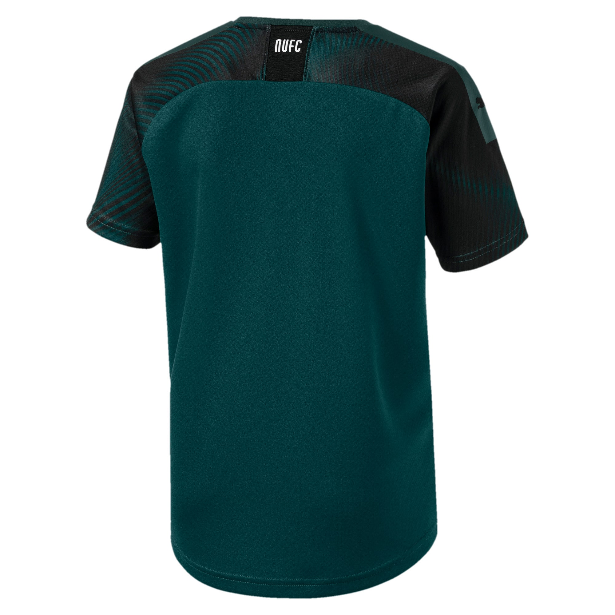 Thumbnail 2 of Newcastle United Kids' Away Replica Jersey, Ponderosa Pine-Puma Black, medium
