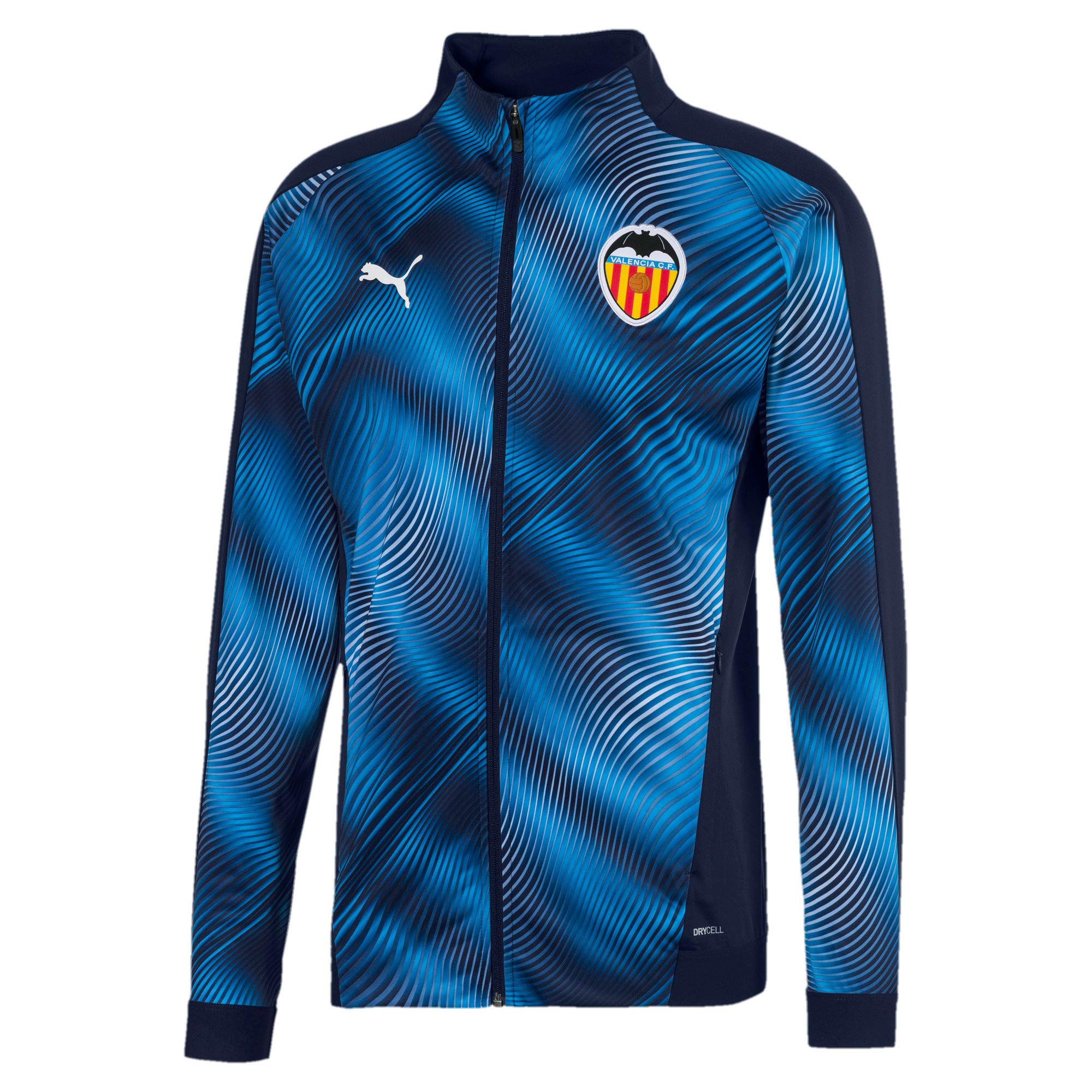 Imagen en miniatura 1 de Chaqueta de hombre Stadium Valencia CF, Peacoat-Vibrant Orange, mediana