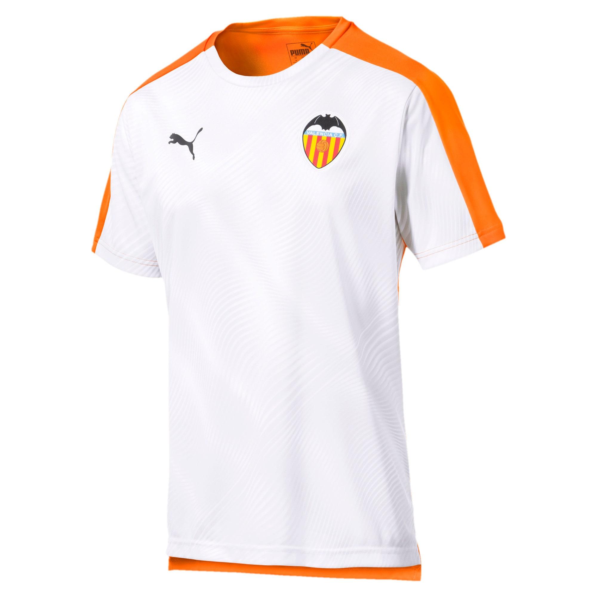 Thumbnail 1 of Valencia CF Men's Stadium Jersey, Vibrant Orange-Puma White, medium