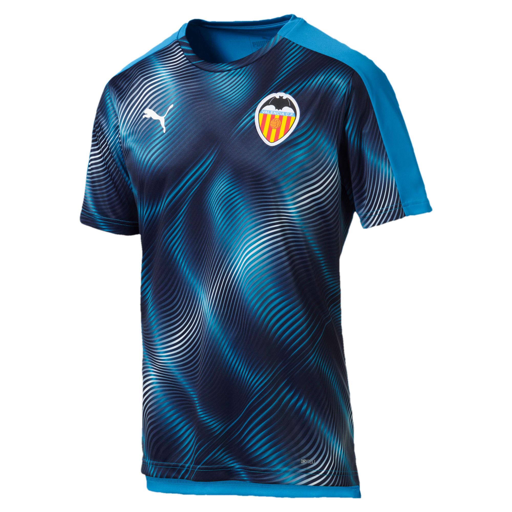 Thumbnail 1 van Valencia CF stadionshirt voor mannen, Bleu Azur-Peacoat, medium