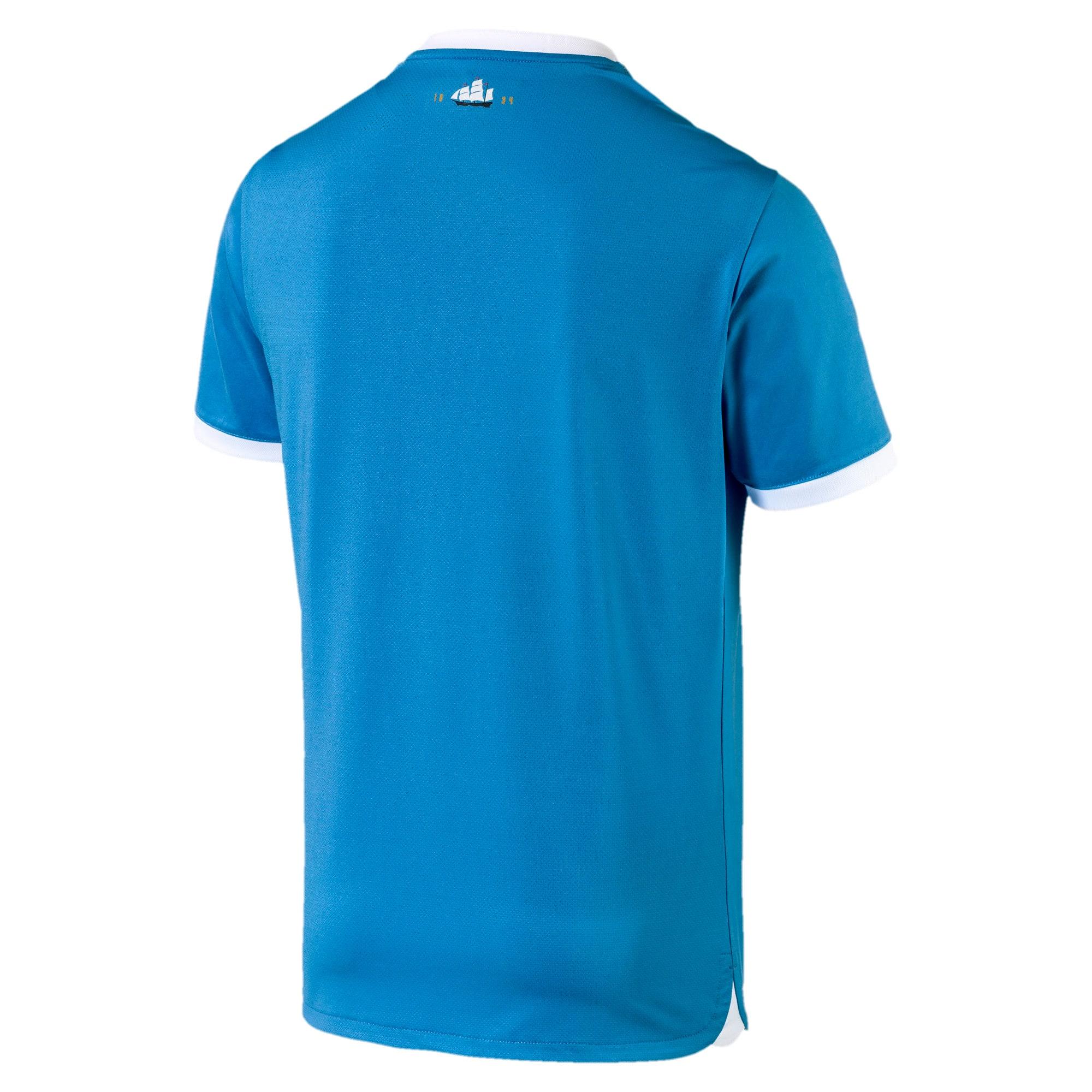 Thumbnail 3 of マンチェスター・シティ MCFC 125th アニバーサリー オーセンティックシャツ ユニフォーム, Marina-Puma White, medium-JPN