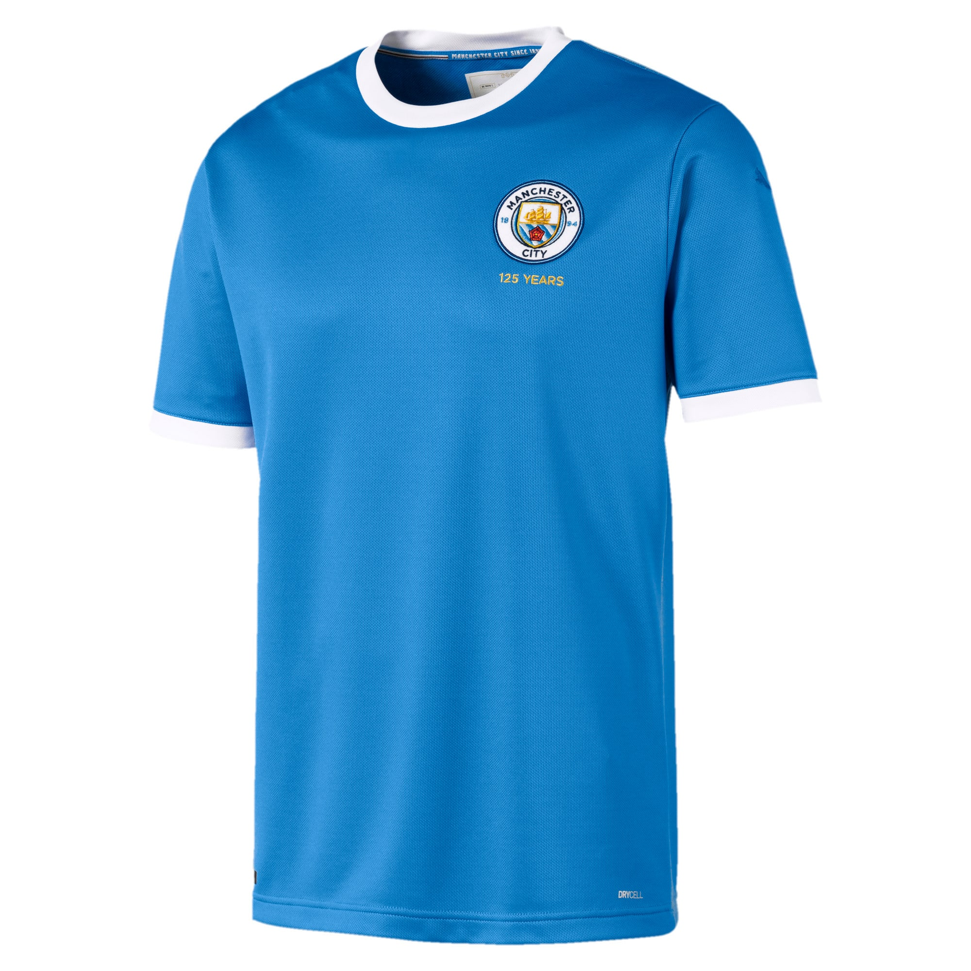 Thumbnail 1 of Maillot Manchester City 125 Year Anniversary Replica pour homme, Marina-Puma White, medium