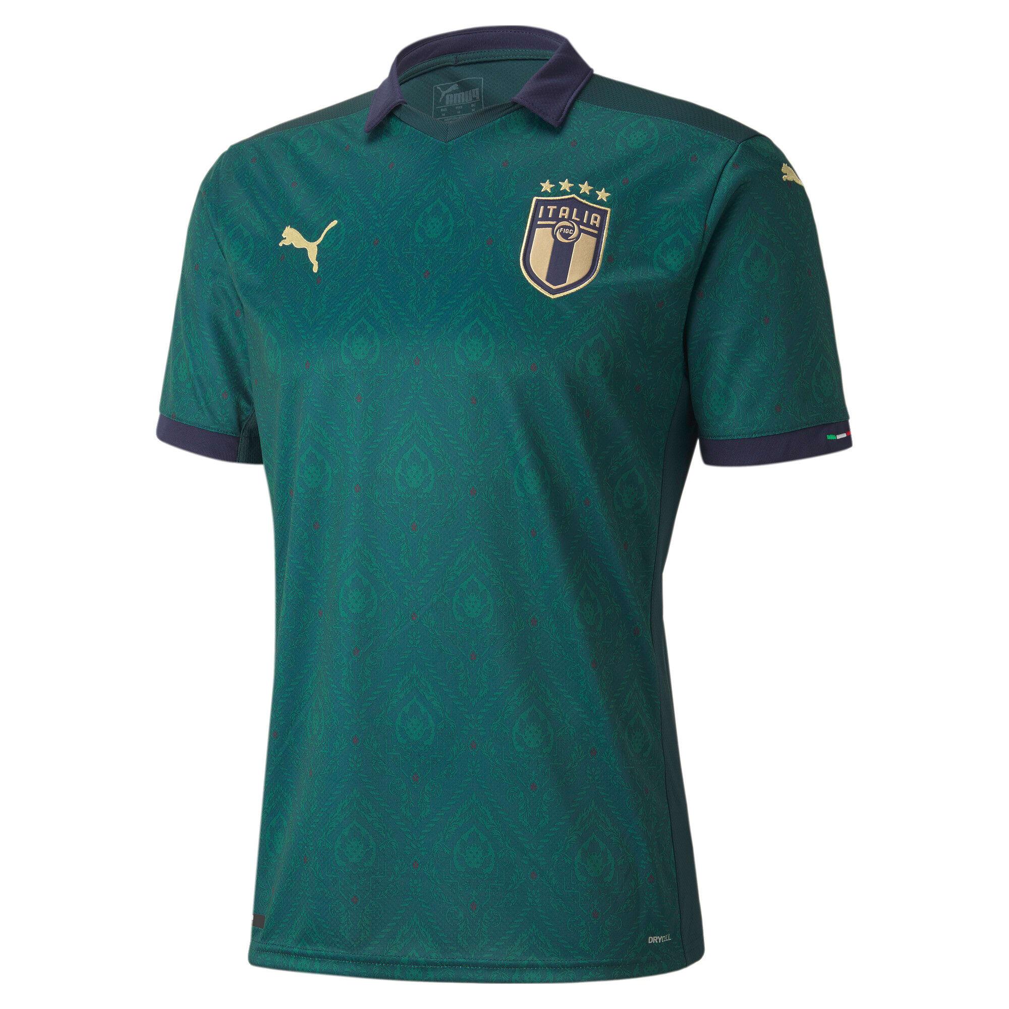 Terza maglia Italia replica uomo, Ponderosa Pine-Peacoat, Grande