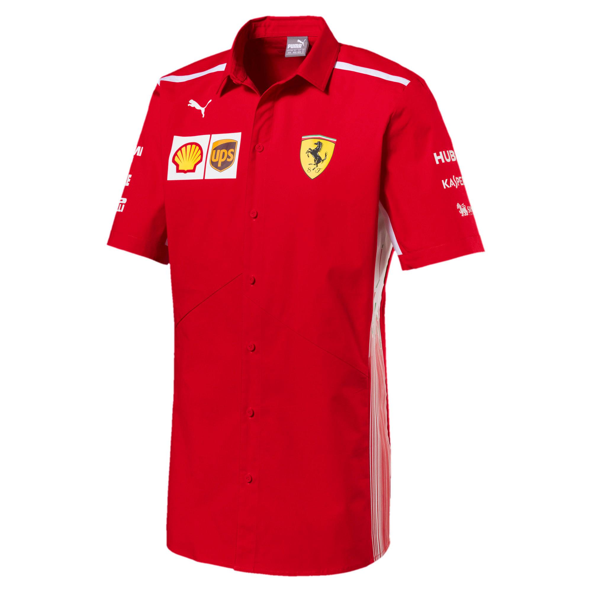 Thumbnail 1 of Scuderia Ferrari Men's Team Shirt, Rosso Corsa, medium