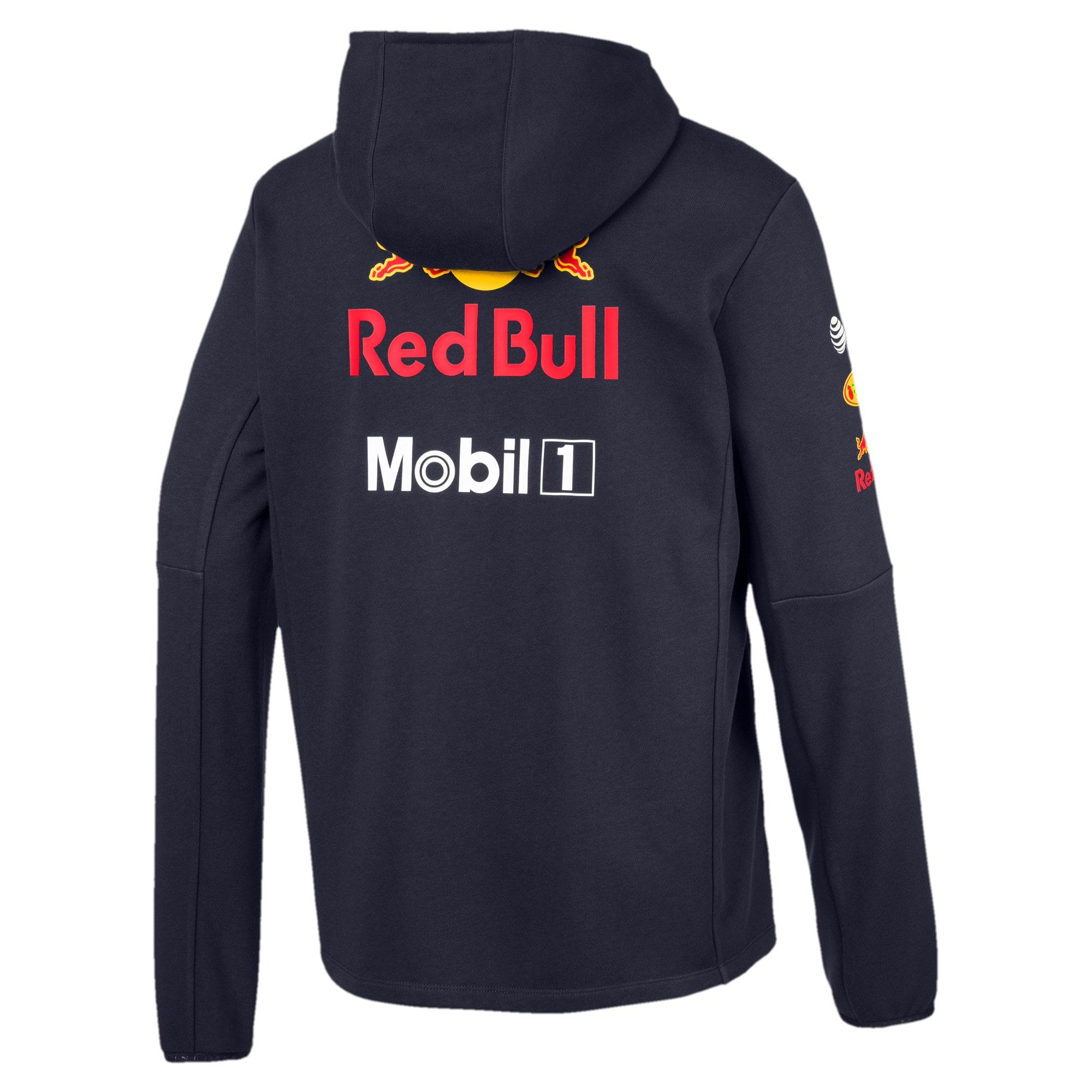 Thumbnail 2 of Red Bull Racing Team Hooded Men's Sweat Jacket, NIGHT SKY, medium