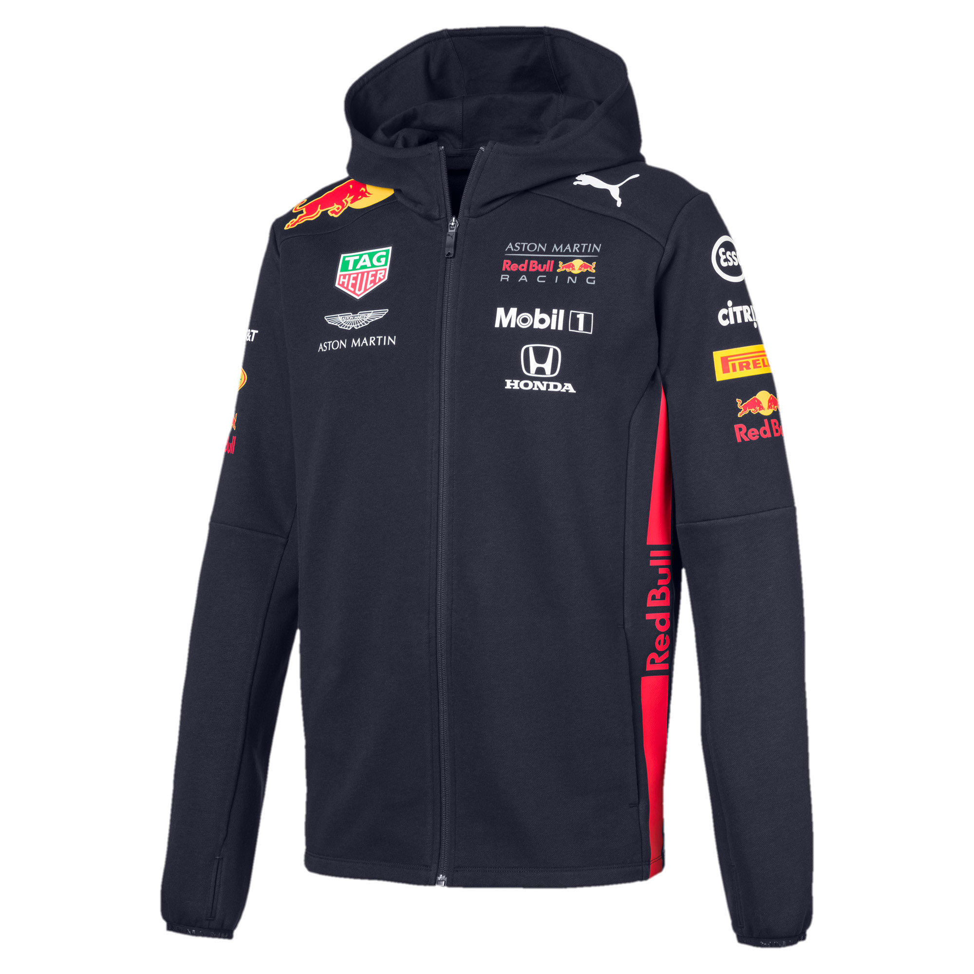 Thumbnail 1 of Red Bull Racing Team Hooded Men's Sweat Jacket, NIGHT SKY, medium