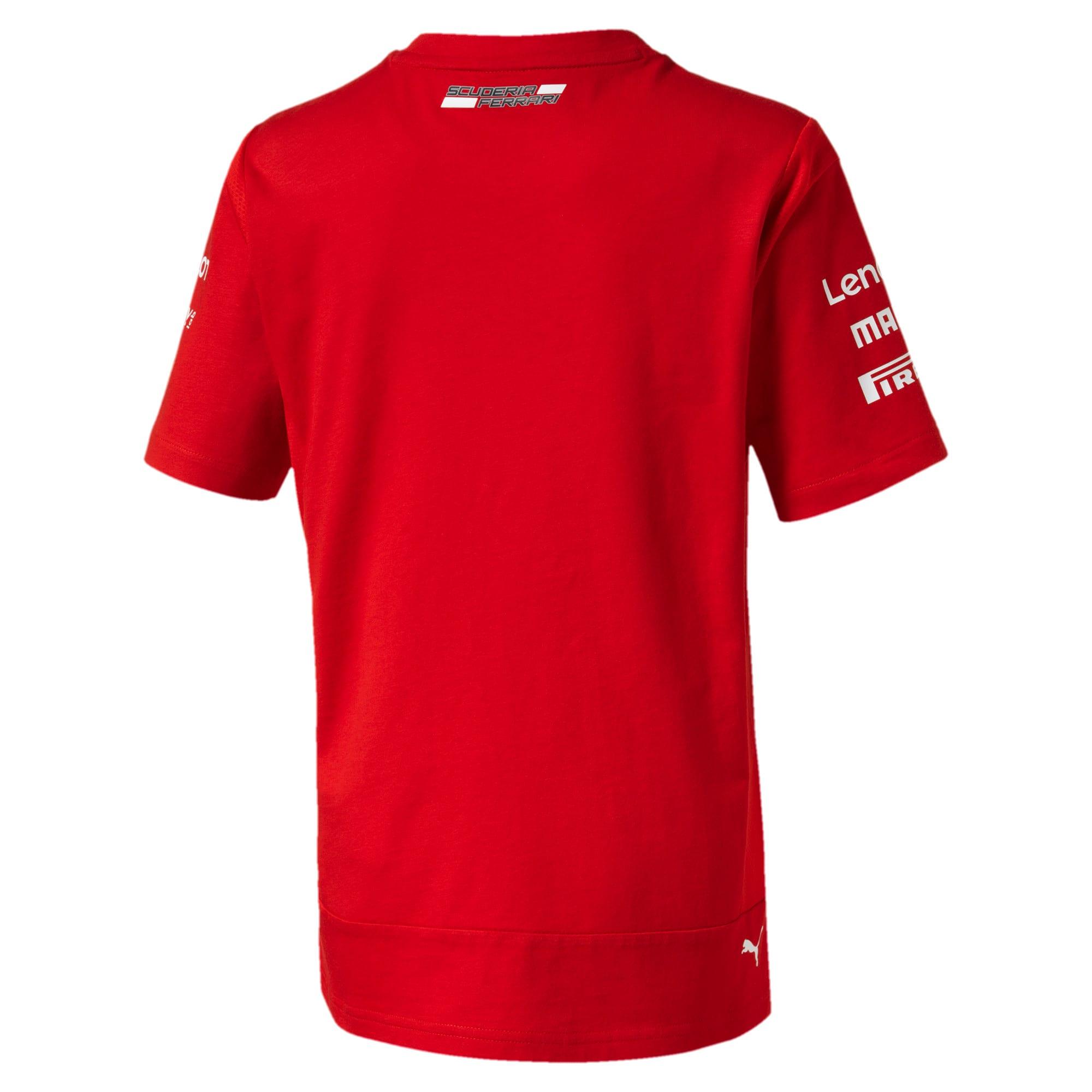 Thumbnail 2 of Ferrari Team Boys' Tee, Rosso Corsa, medium