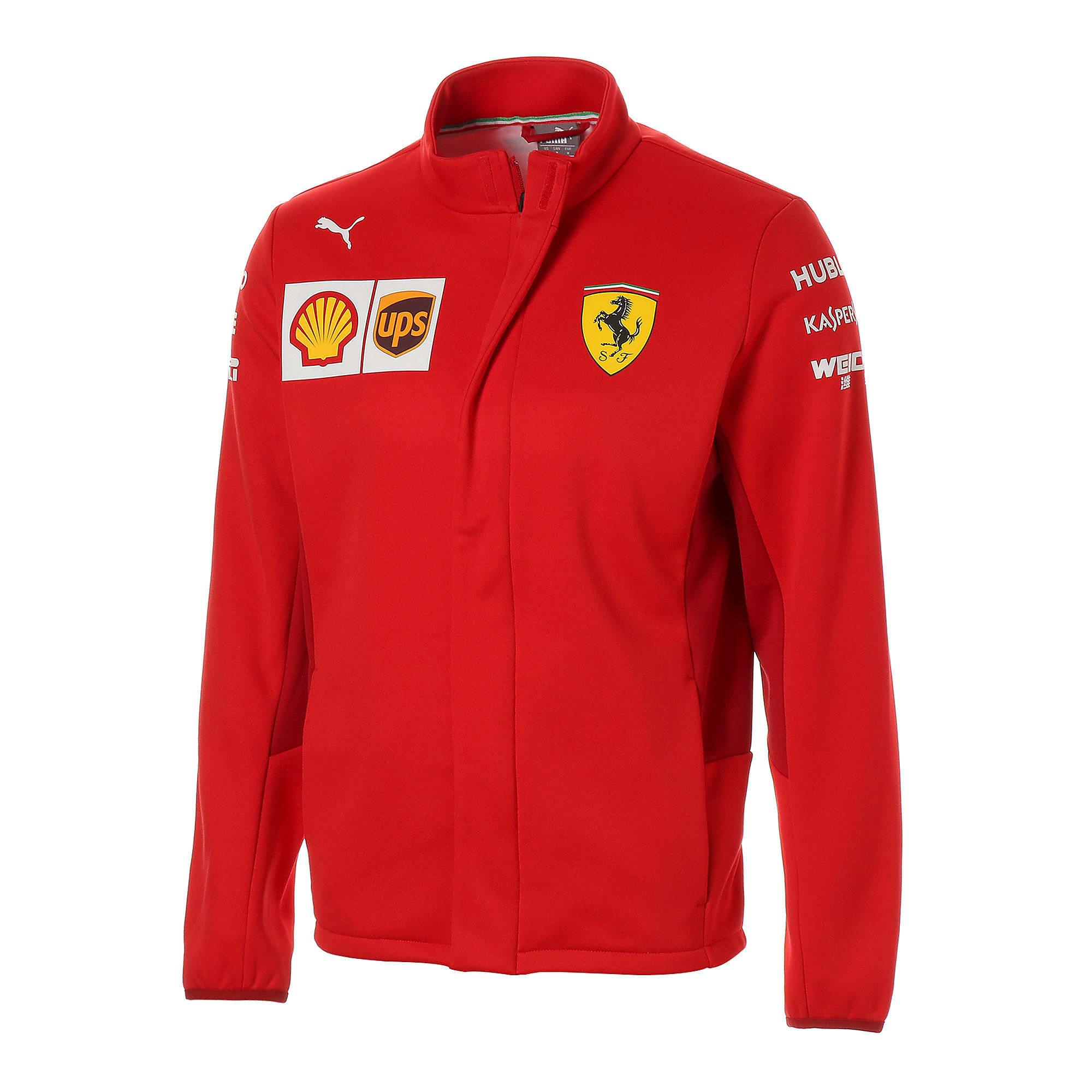 Thumbnail 1 of フェラーリ SF チーム ソフトシェル ジャケット, Rosso Corsa-without MW Logo, medium-JPN
