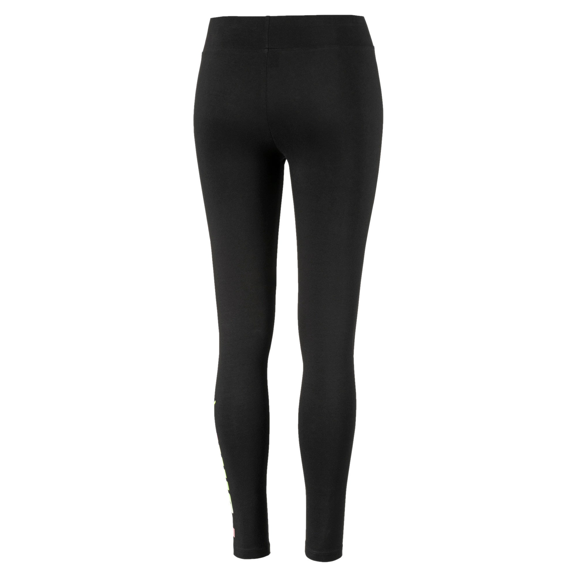 Miniatura 5 de Leggings Essential estampados para mujer, Puma Black, mediano
