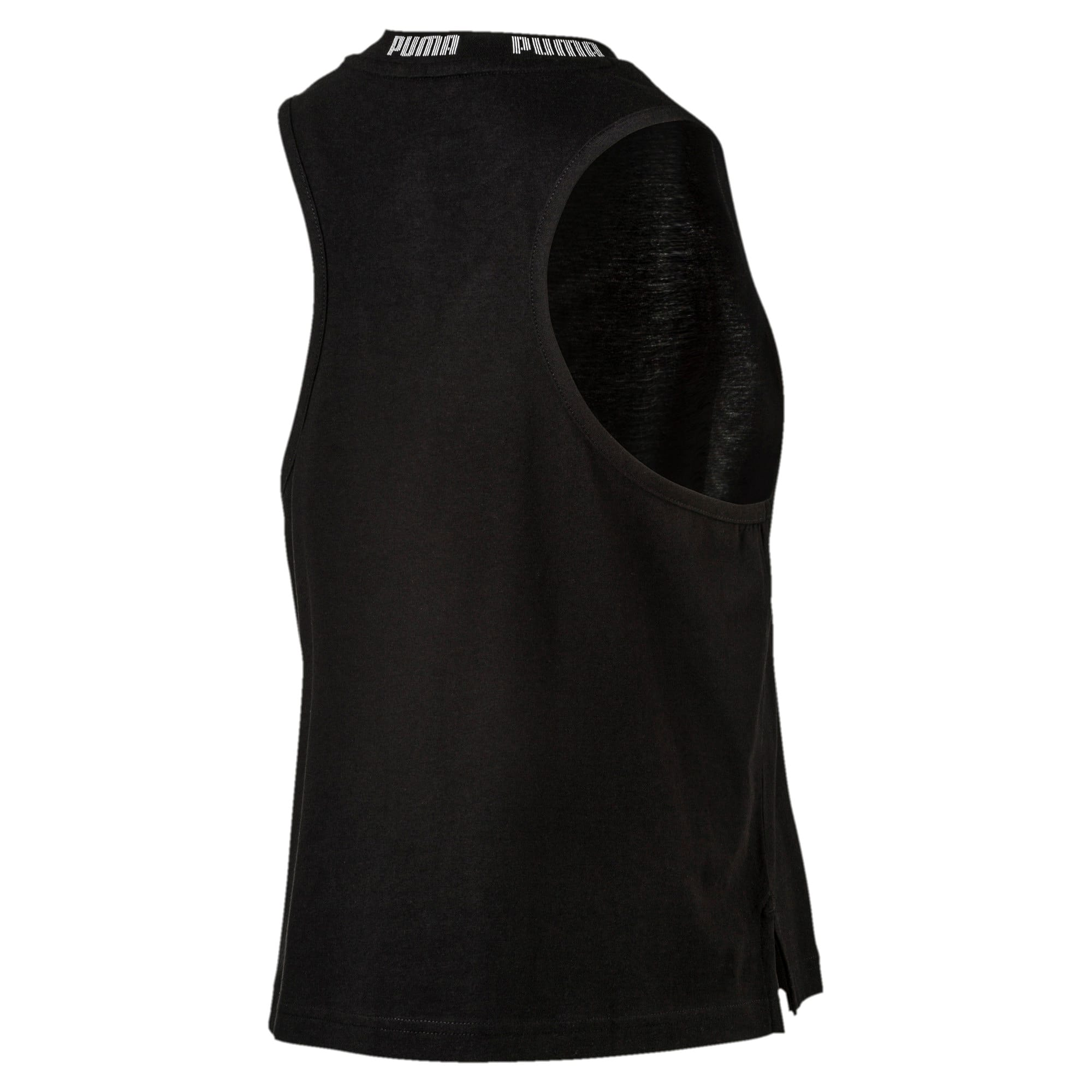 Miniatura 2 de Camiseta sin mangas holgada de mujer, Cotton Black, mediano