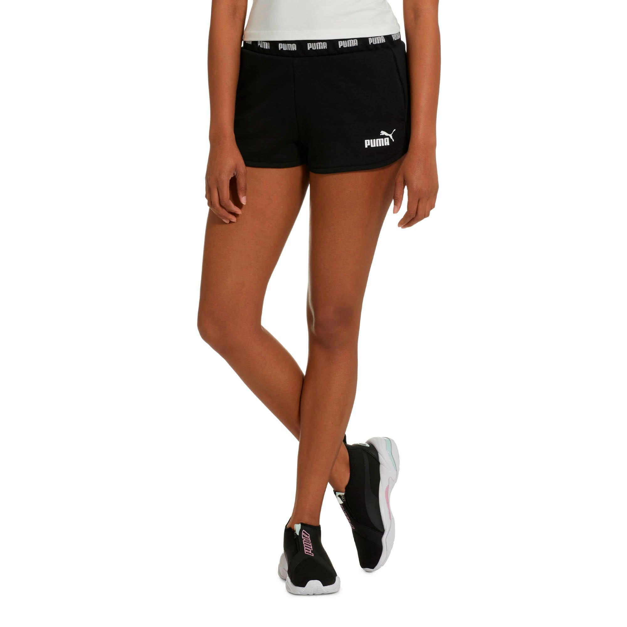 Thumbnail 2 of Amplified Women's Shorts, Cotton Black, medium