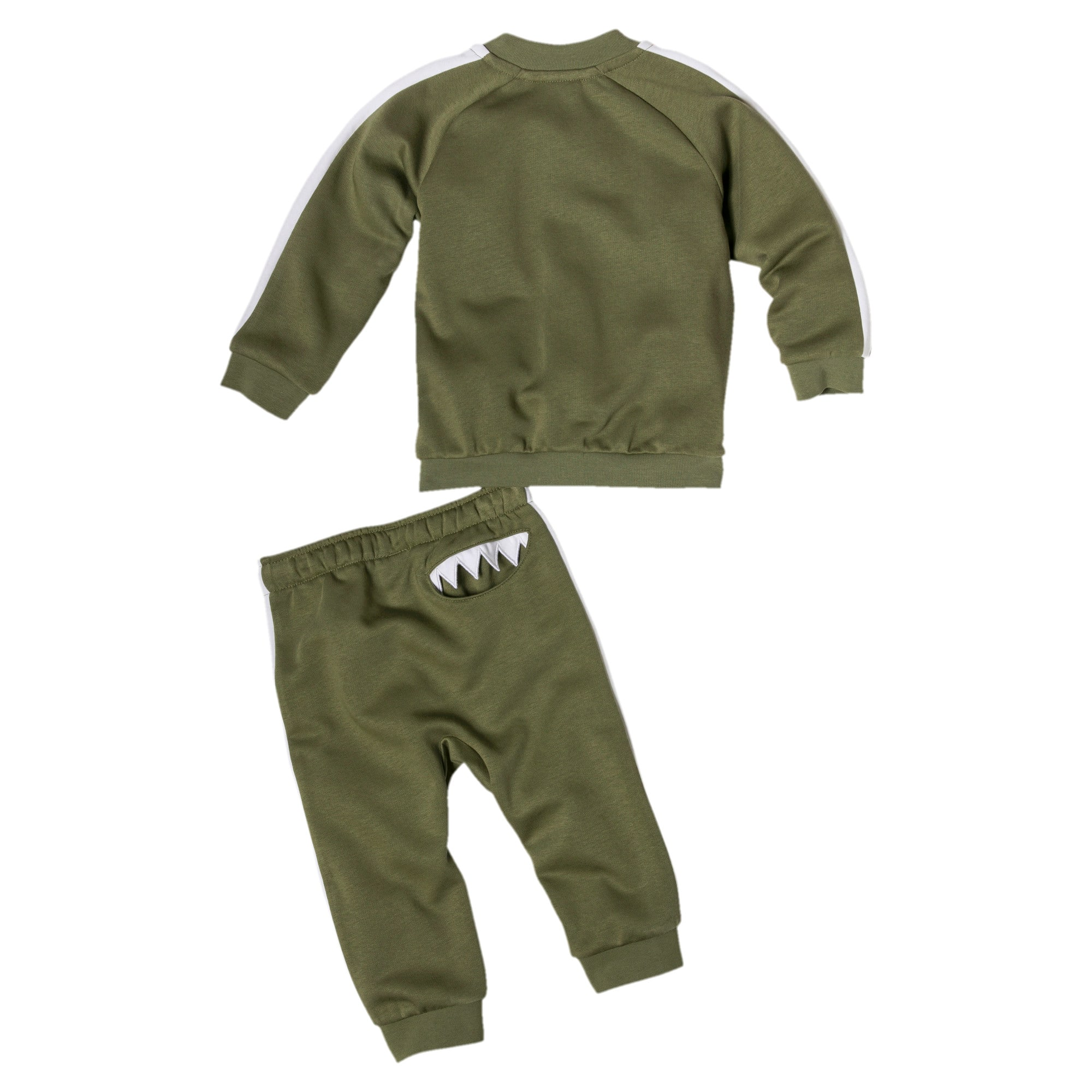 Thumbnail 2 of Infant + Toddler Monster Set, Olivine, medium