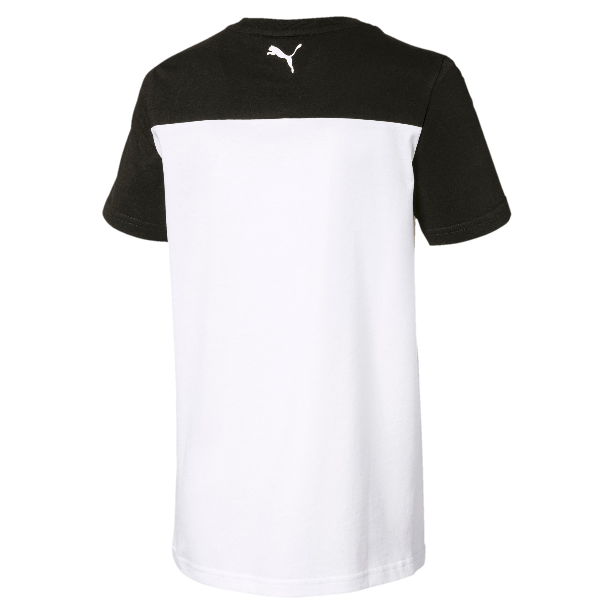 Thumbnail 2 of キッズ ALPHA SS トレンド Tシャツ 半袖, Puma Black, medium-JPN