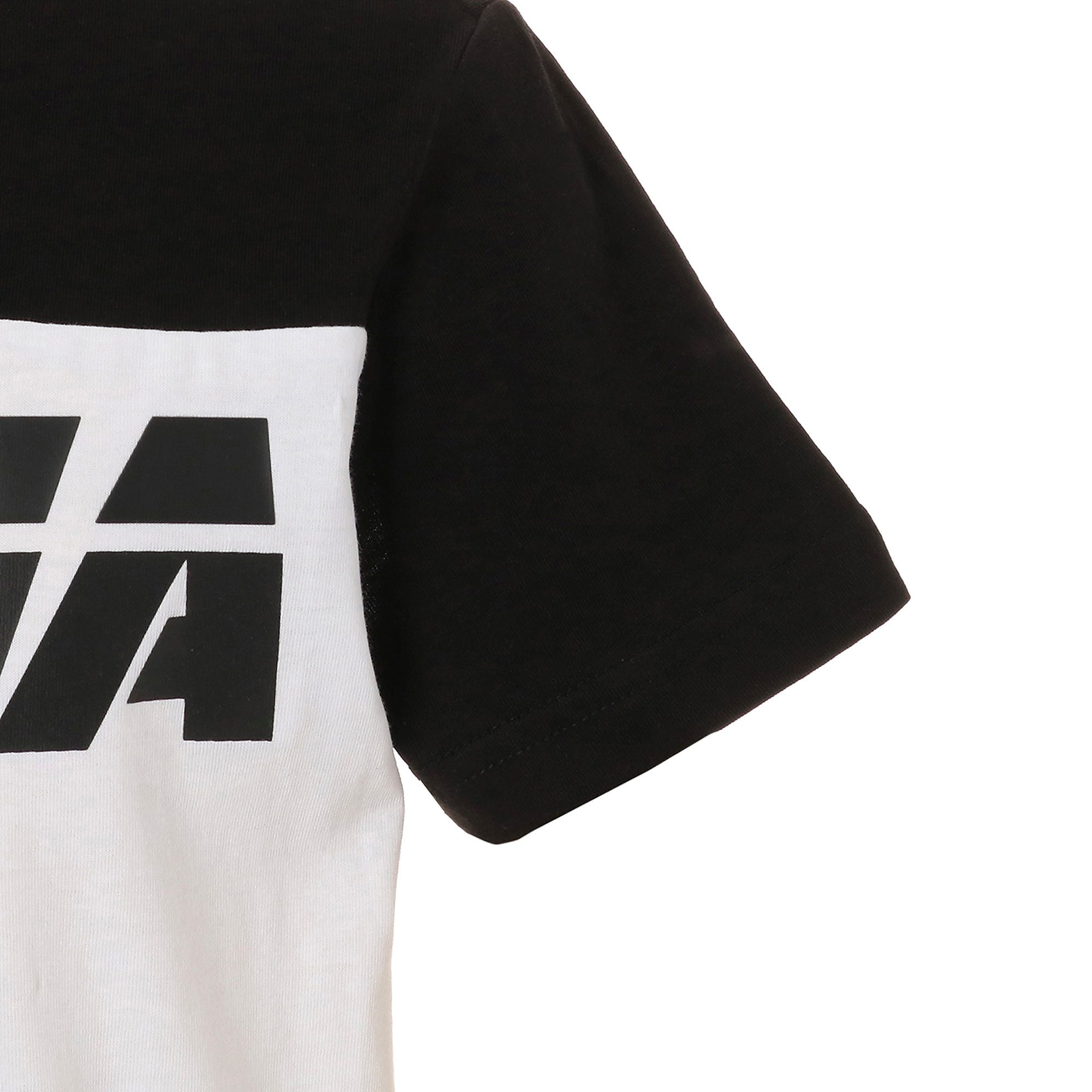 Thumbnail 5 of キッズ ALPHA SS トレンド Tシャツ 半袖, Puma Black, medium-JPN