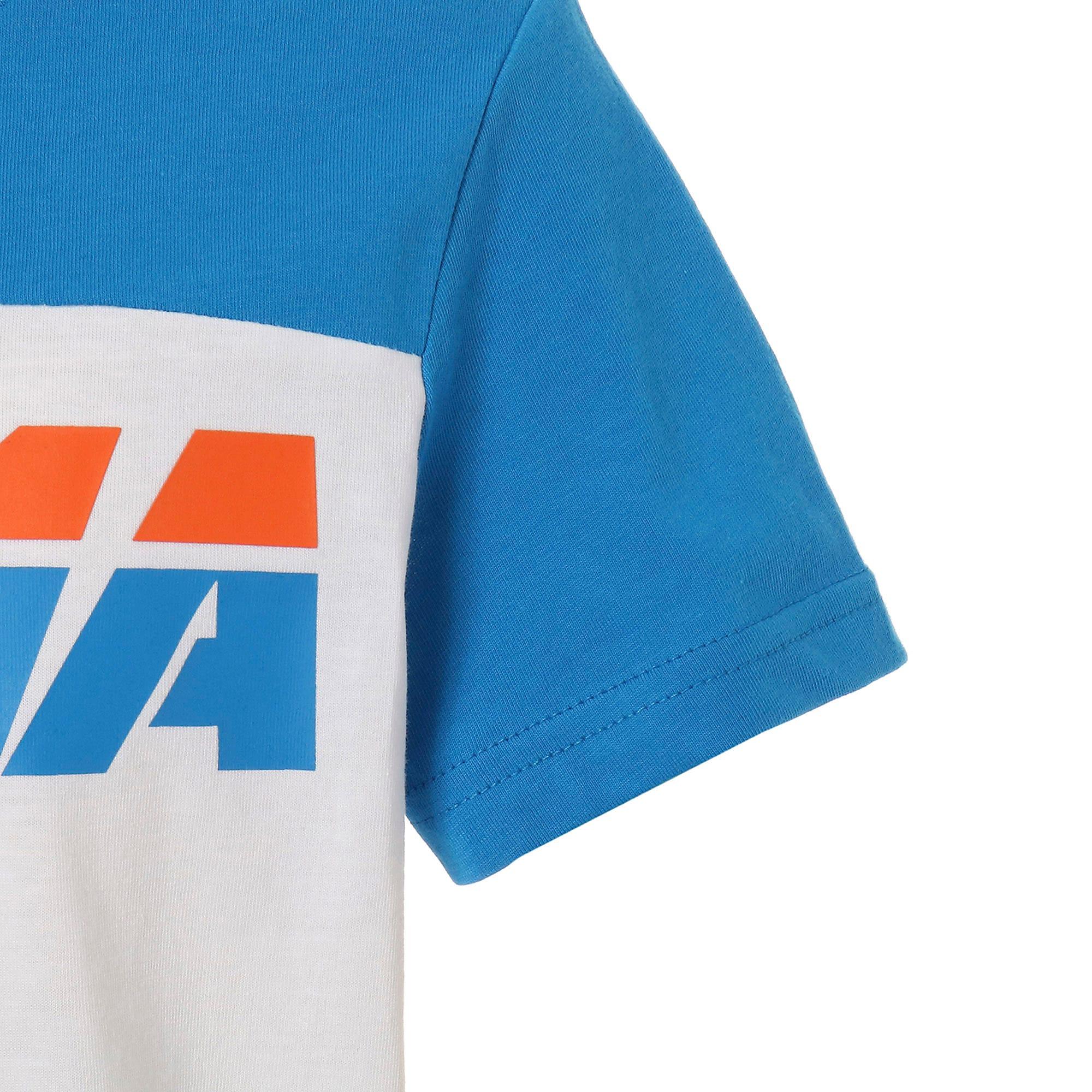 Thumbnail 5 of キッズ ALPHA SS トレンド Tシャツ 半袖, Puma White, medium-JPN