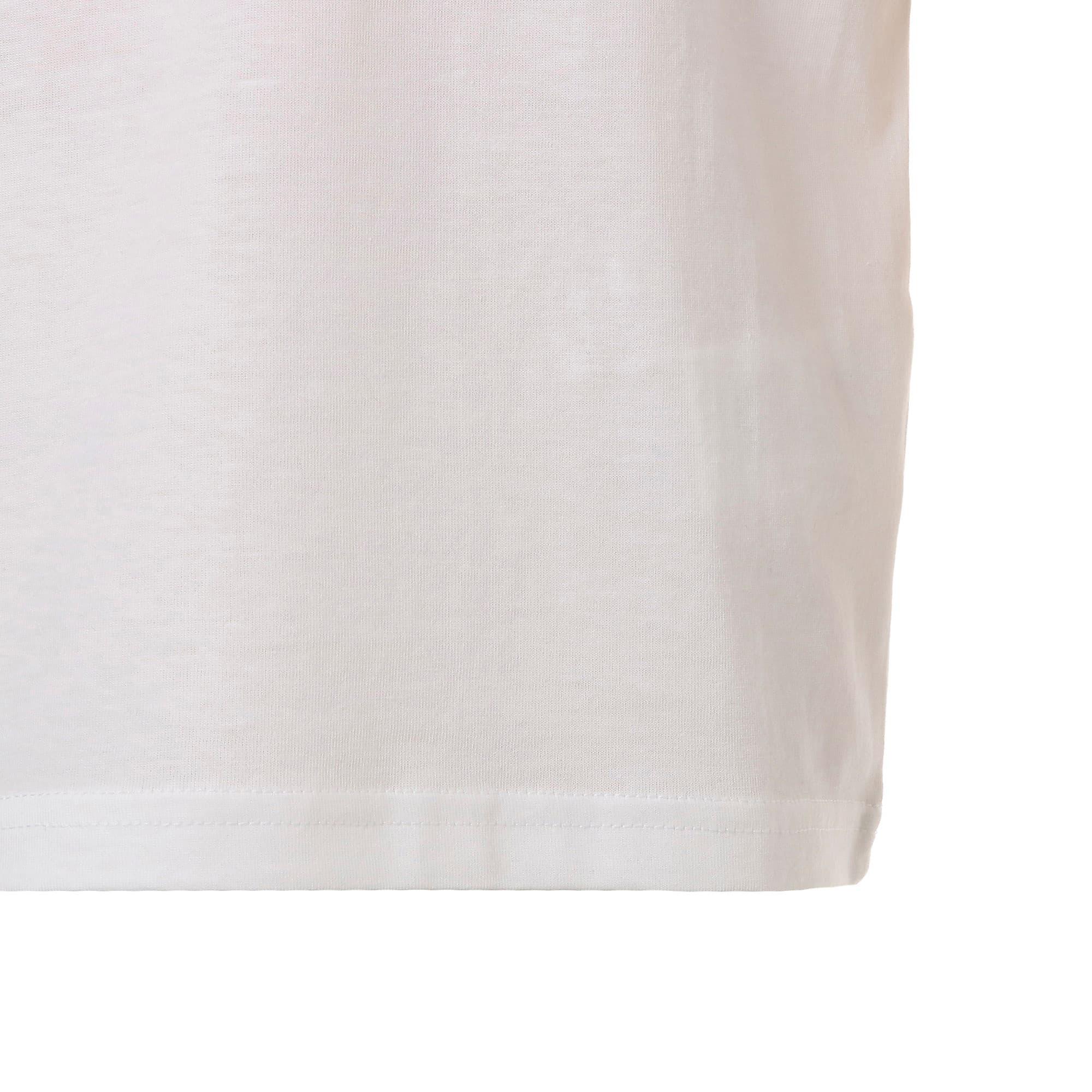 Thumbnail 6 of キッズ ALPHA SS トレンド Tシャツ 半袖, Puma White, medium-JPN