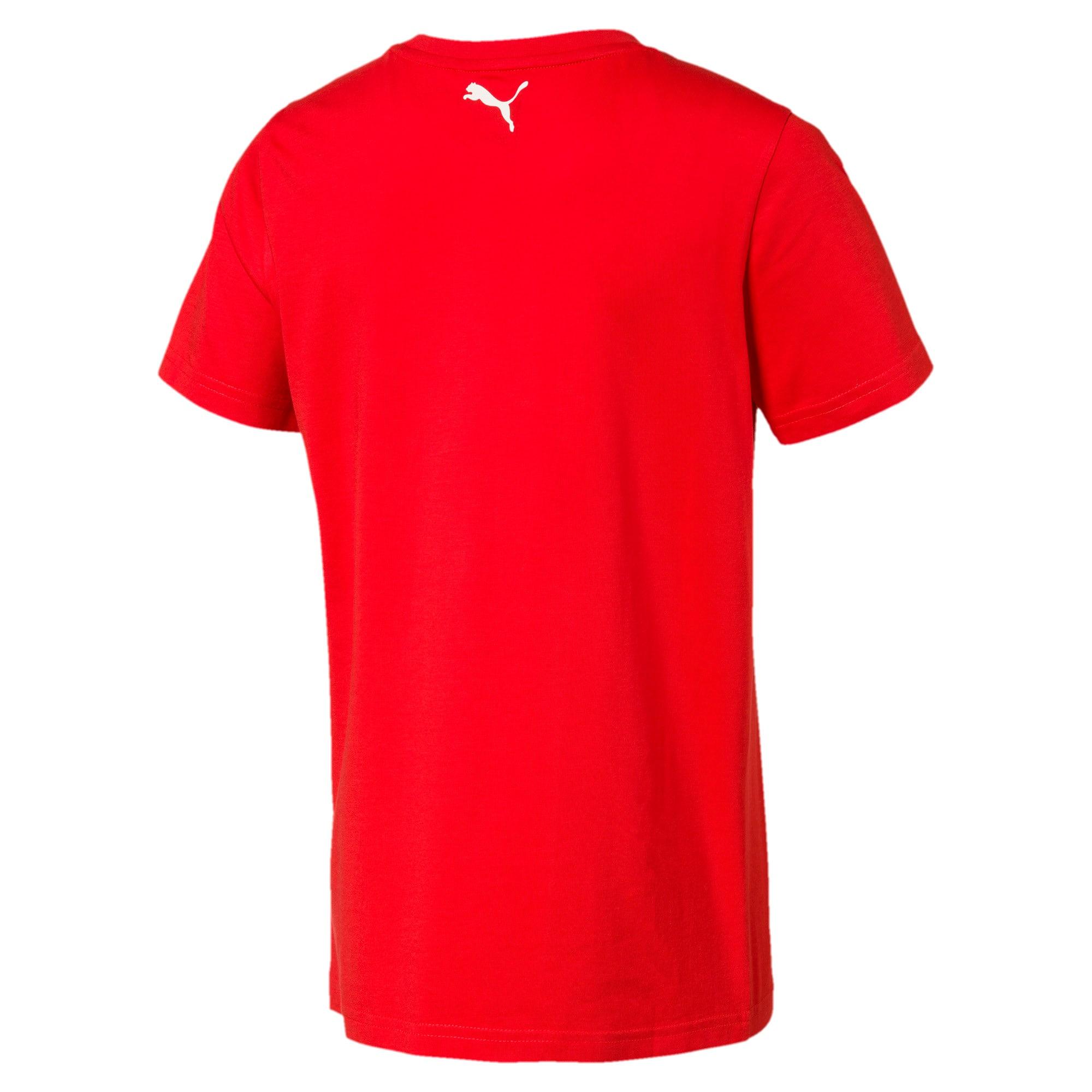 Thumbnail 2 of キッズ ALPHA SS グラフィック Tシャツ 半袖, High Risk Red, medium-JPN