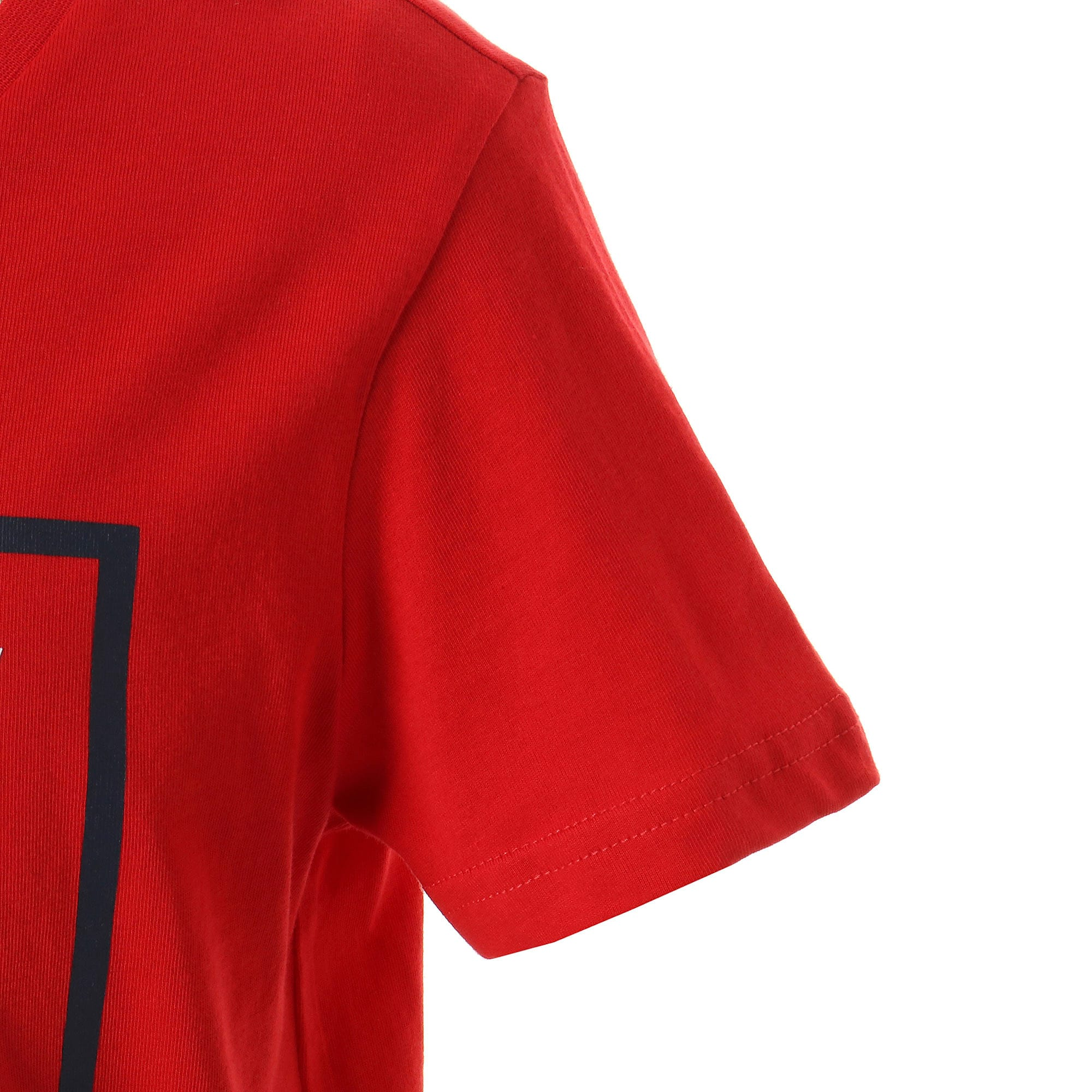 Thumbnail 5 of キッズ ALPHA SS グラフィック Tシャツ 半袖, High Risk Red, medium-JPN