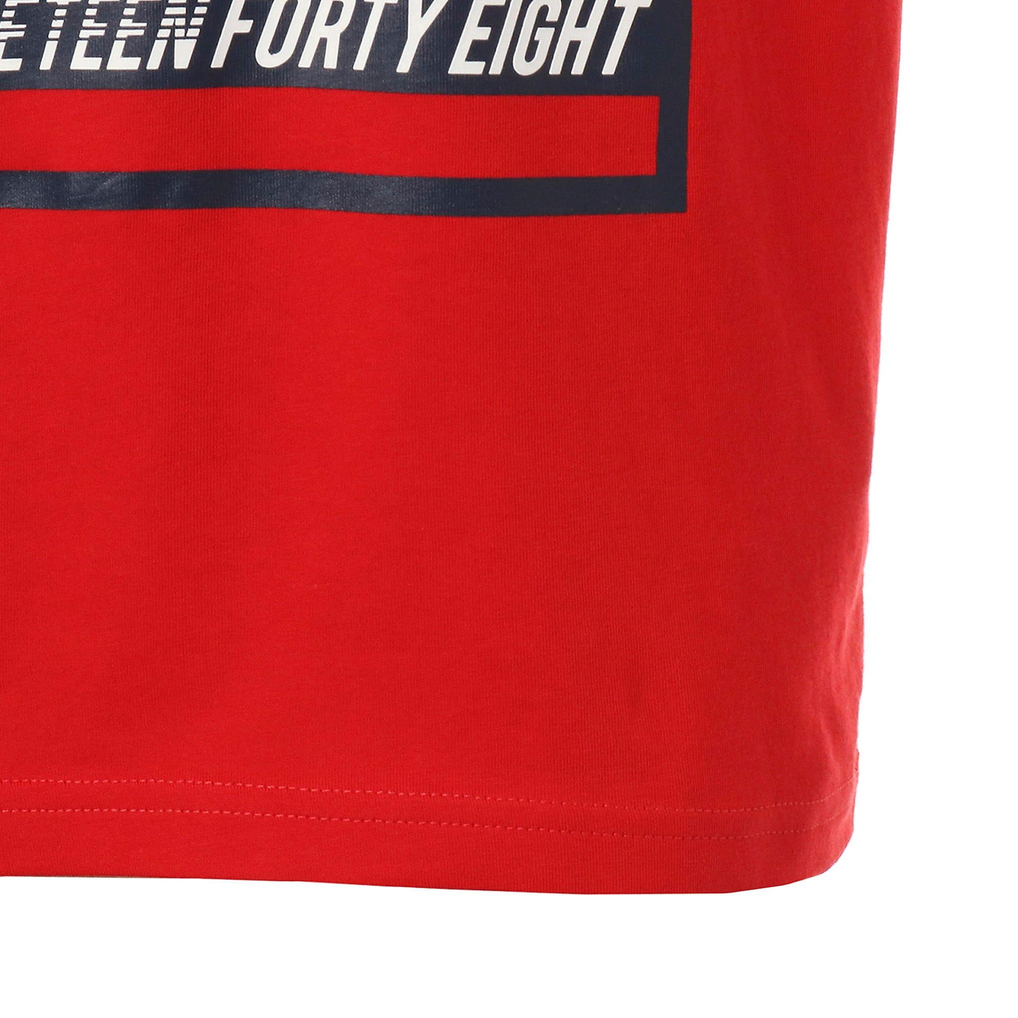 Thumbnail 6 of キッズ ALPHA SS グラフィック Tシャツ 半袖, High Risk Red, medium-JPN