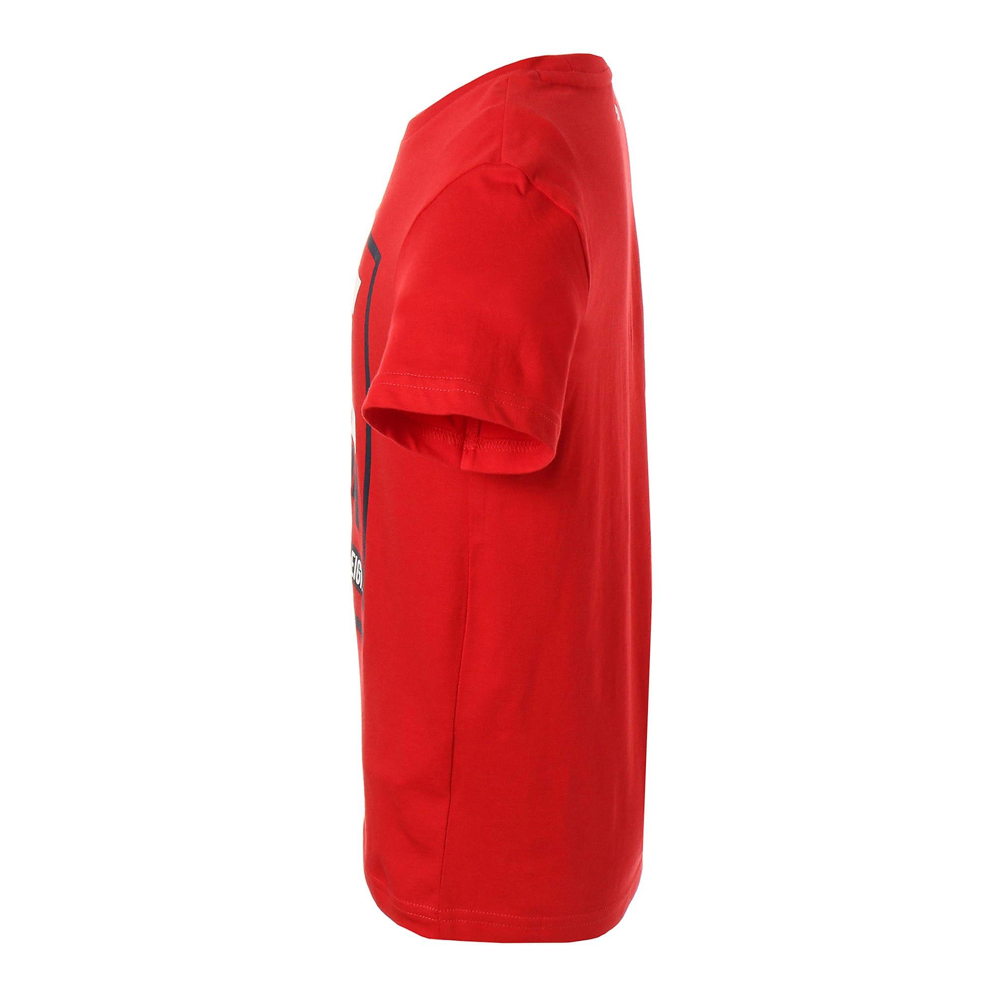 Thumbnail 3 of キッズ ALPHA SS グラフィック Tシャツ 半袖, High Risk Red, medium-JPN
