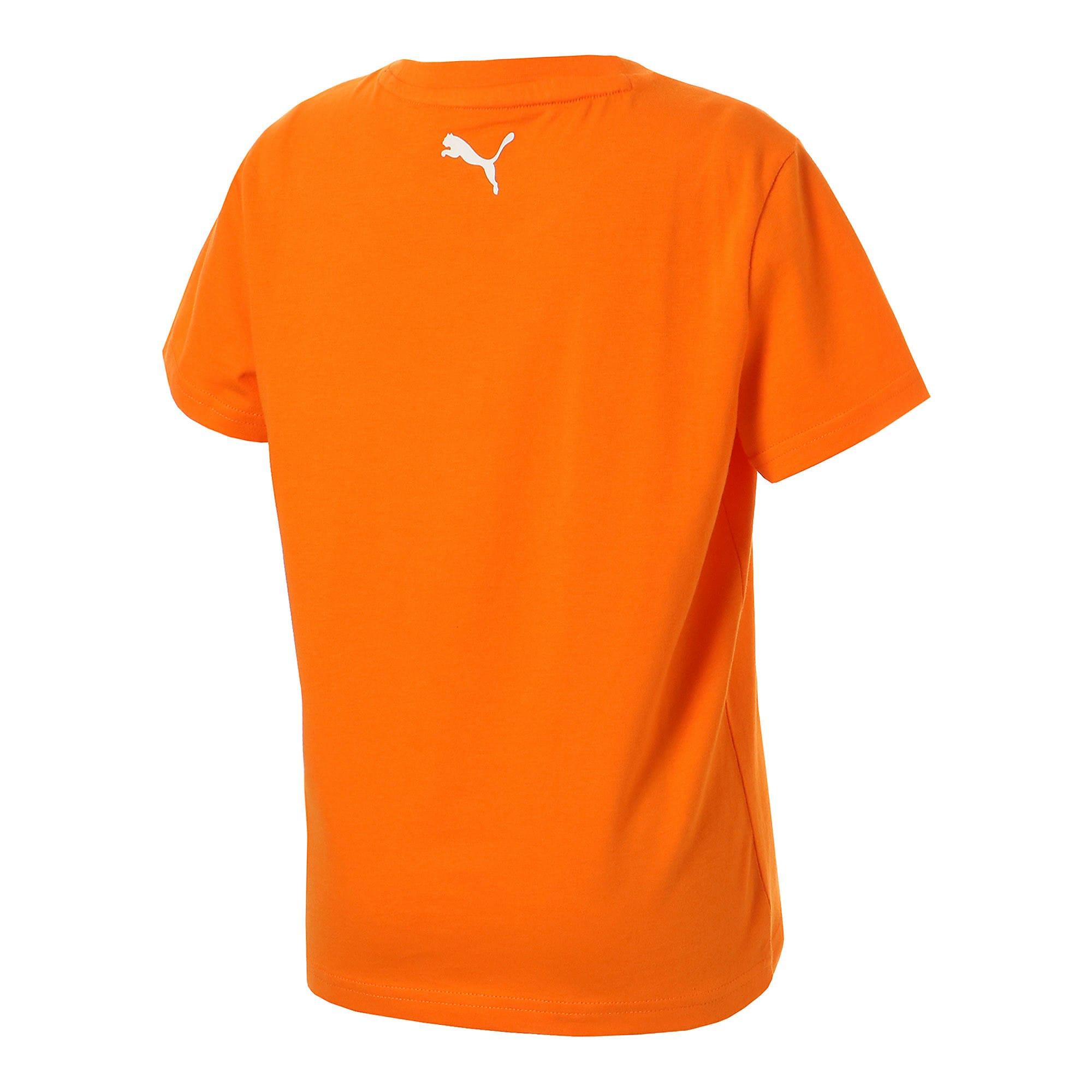 Thumbnail 3 of キッズ ALPHA SS グラフィック Tシャツ 半袖, Orange Popsicle, medium-JPN