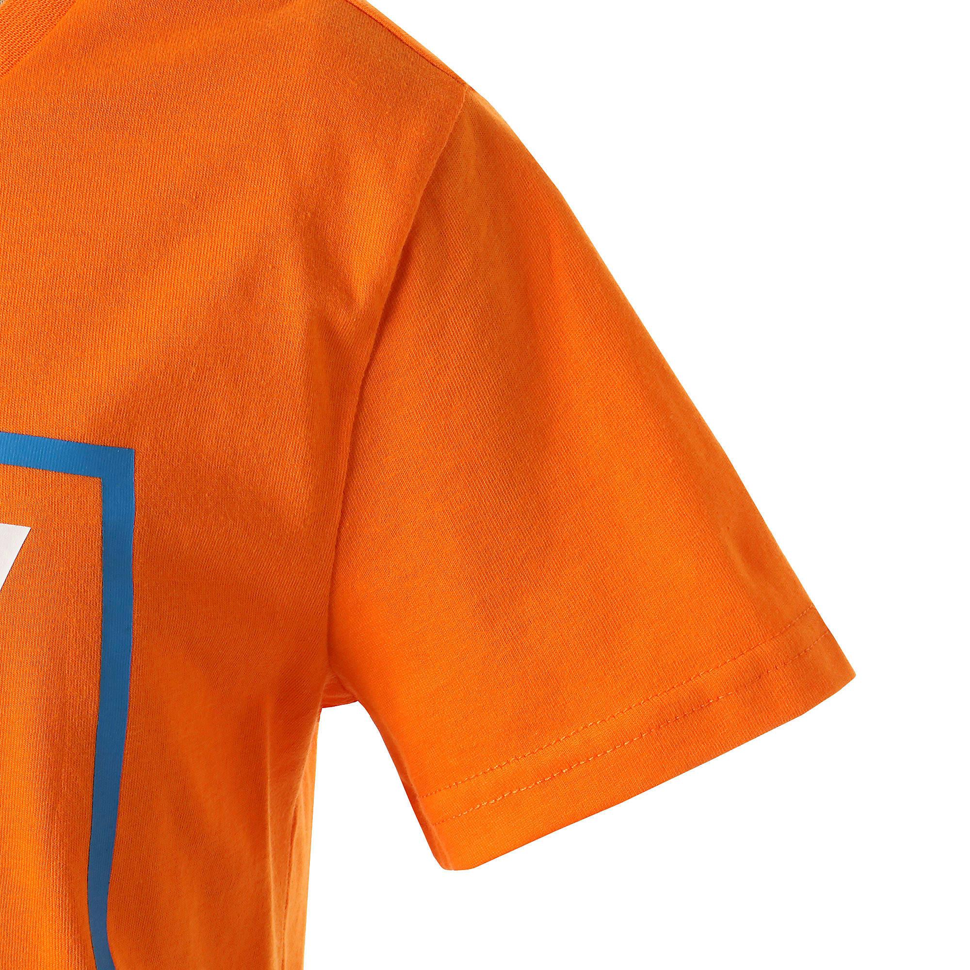 Thumbnail 5 of キッズ ALPHA SS グラフィック Tシャツ 半袖, Orange Popsicle, medium-JPN