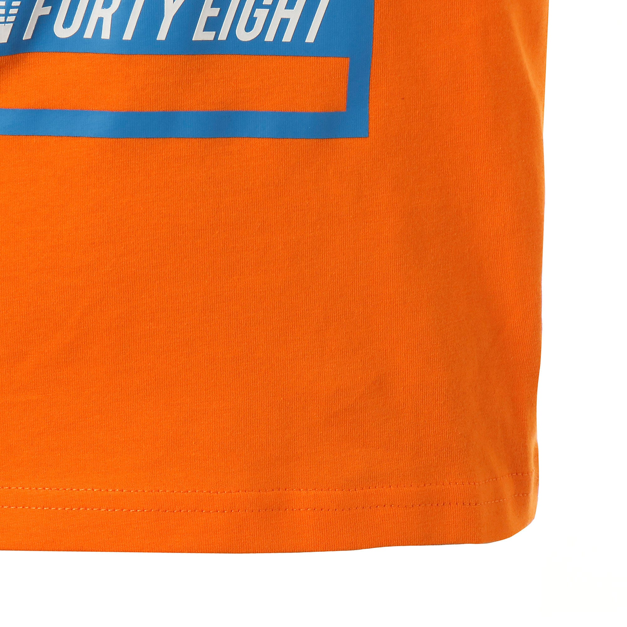 Thumbnail 6 of キッズ ALPHA SS グラフィック Tシャツ 半袖, Orange Popsicle, medium-JPN