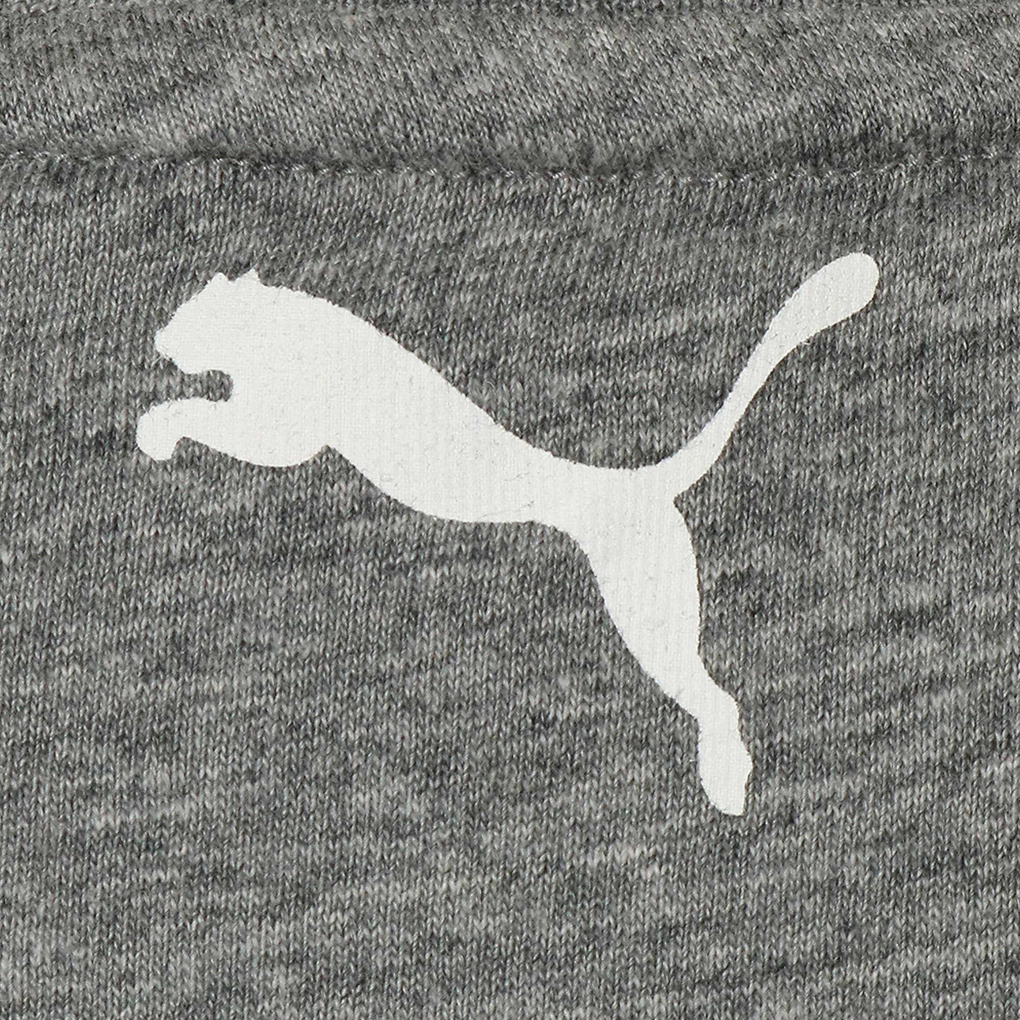 Thumbnail 4 of キッズ ALPHA SS グラフィック Tシャツ 半袖, Medium Gray Heather, medium-JPN