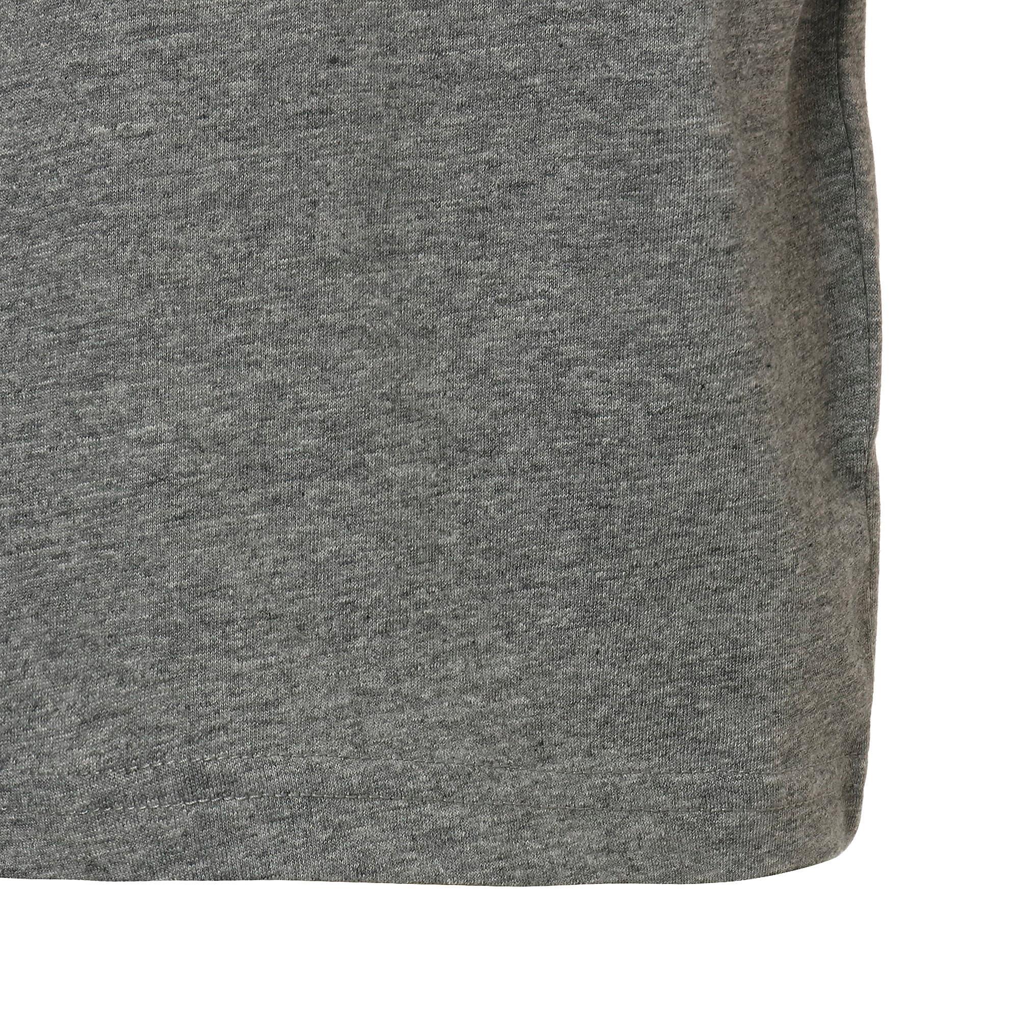 Thumbnail 6 of キッズ ALPHA SS グラフィック Tシャツ 半袖, Medium Gray Heather, medium-JPN