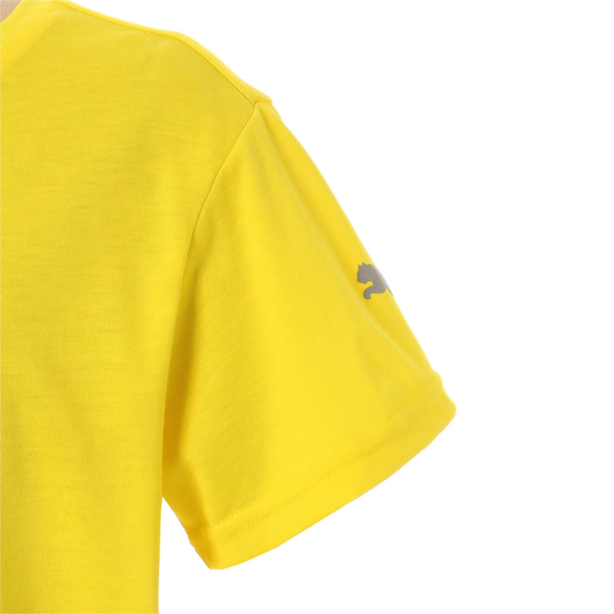 Thumbnail 5 of キッズ エナジー SS Tシャツ 半袖, Blazing Yellow, medium-JPN