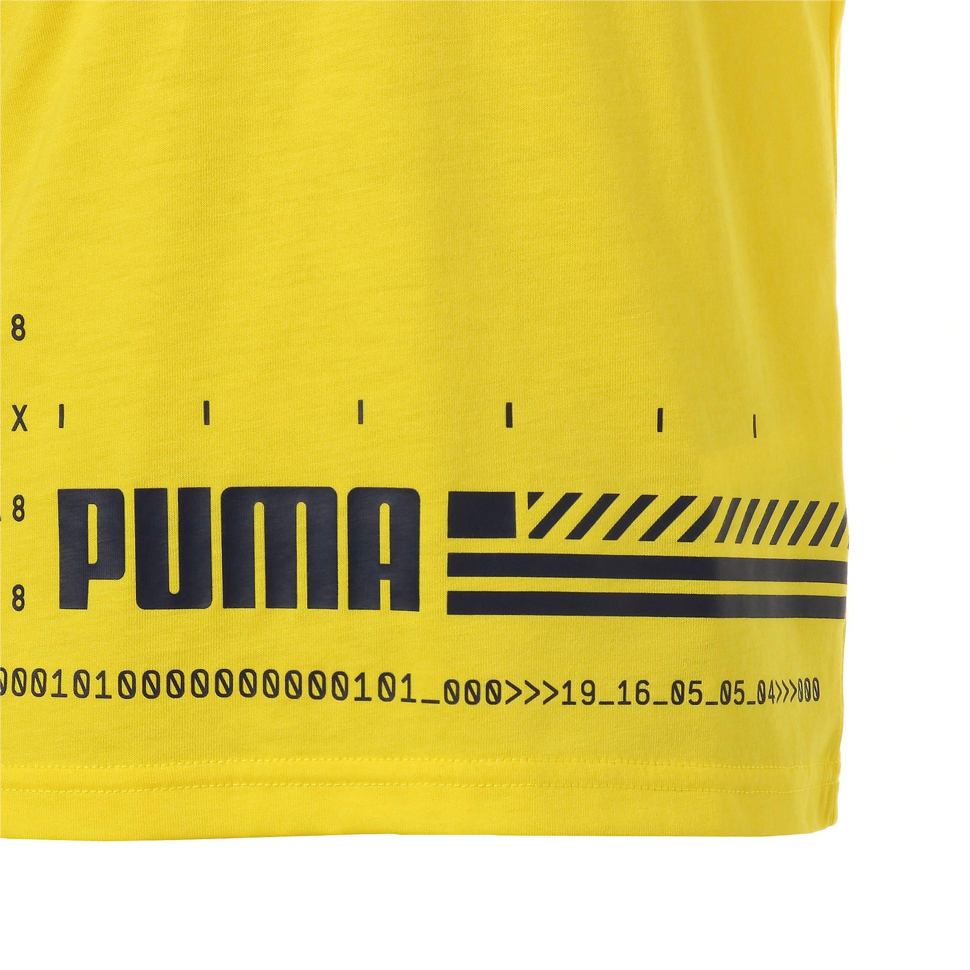 Thumbnail 6 of キッズ エナジー SS Tシャツ 半袖, Blazing Yellow, medium-JPN