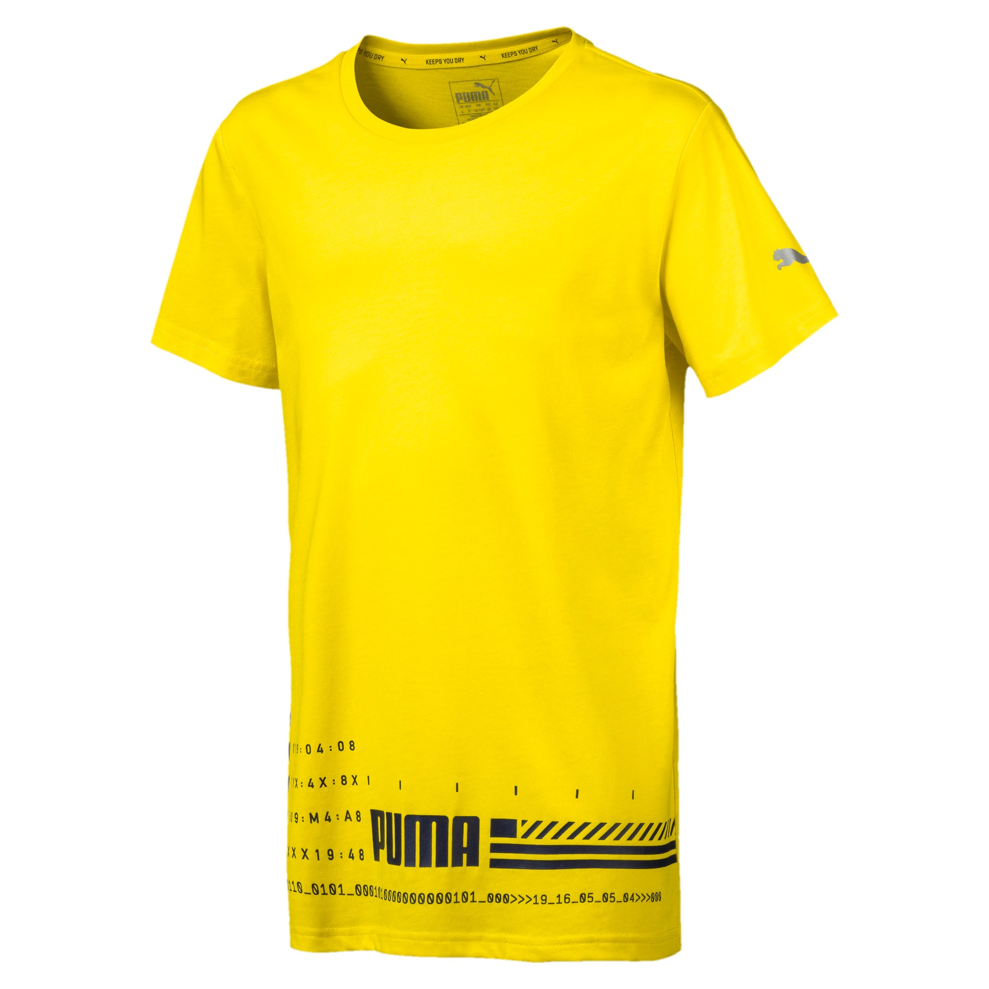Thumbnail 2 of キッズ エナジー SS Tシャツ 半袖, Blazing Yellow, medium-JPN