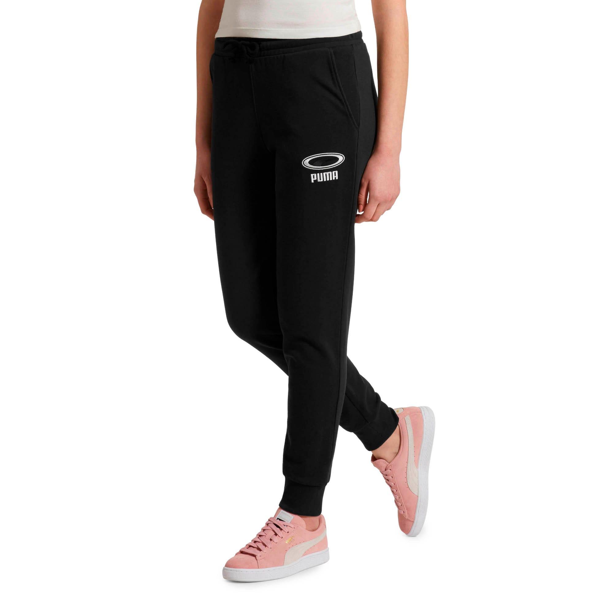 Thumbnail 2 of OG Women's Cuffed Pants, Puma Black, medium