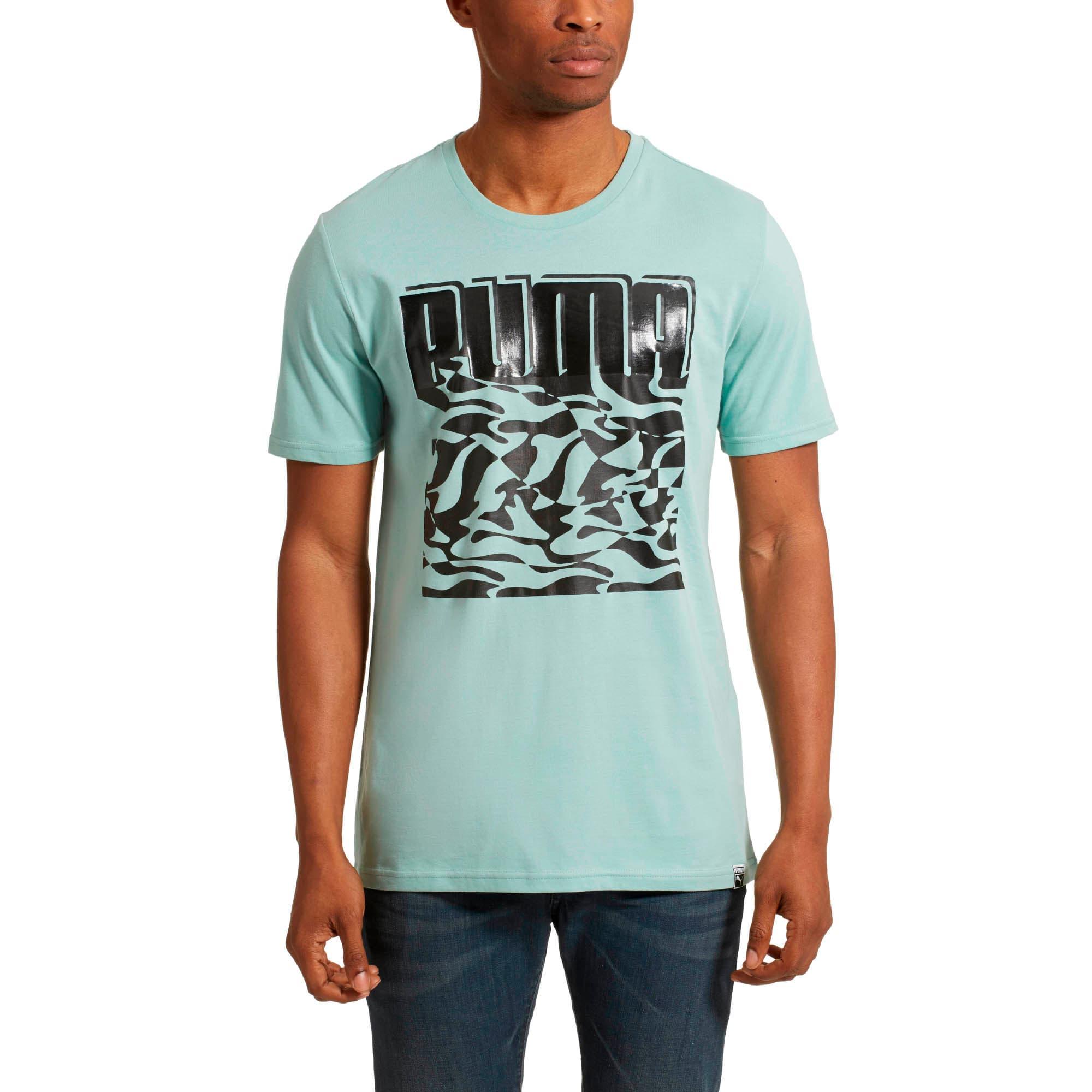 Thumbnail 2 of HD Brand T-Shirt, Aquifer, medium