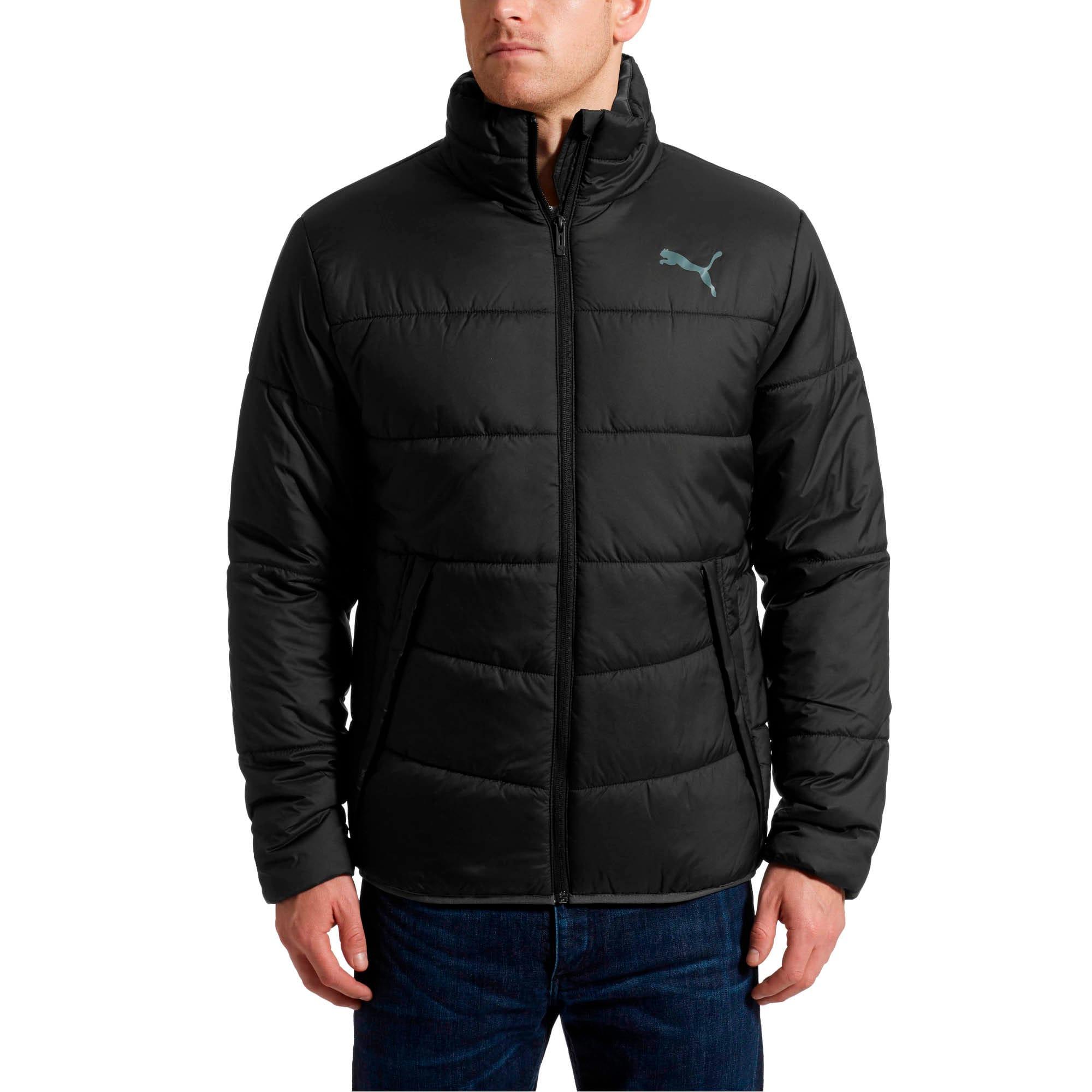 Thumbnail 2 of ESS Padded Jacket, Puma Black, medium