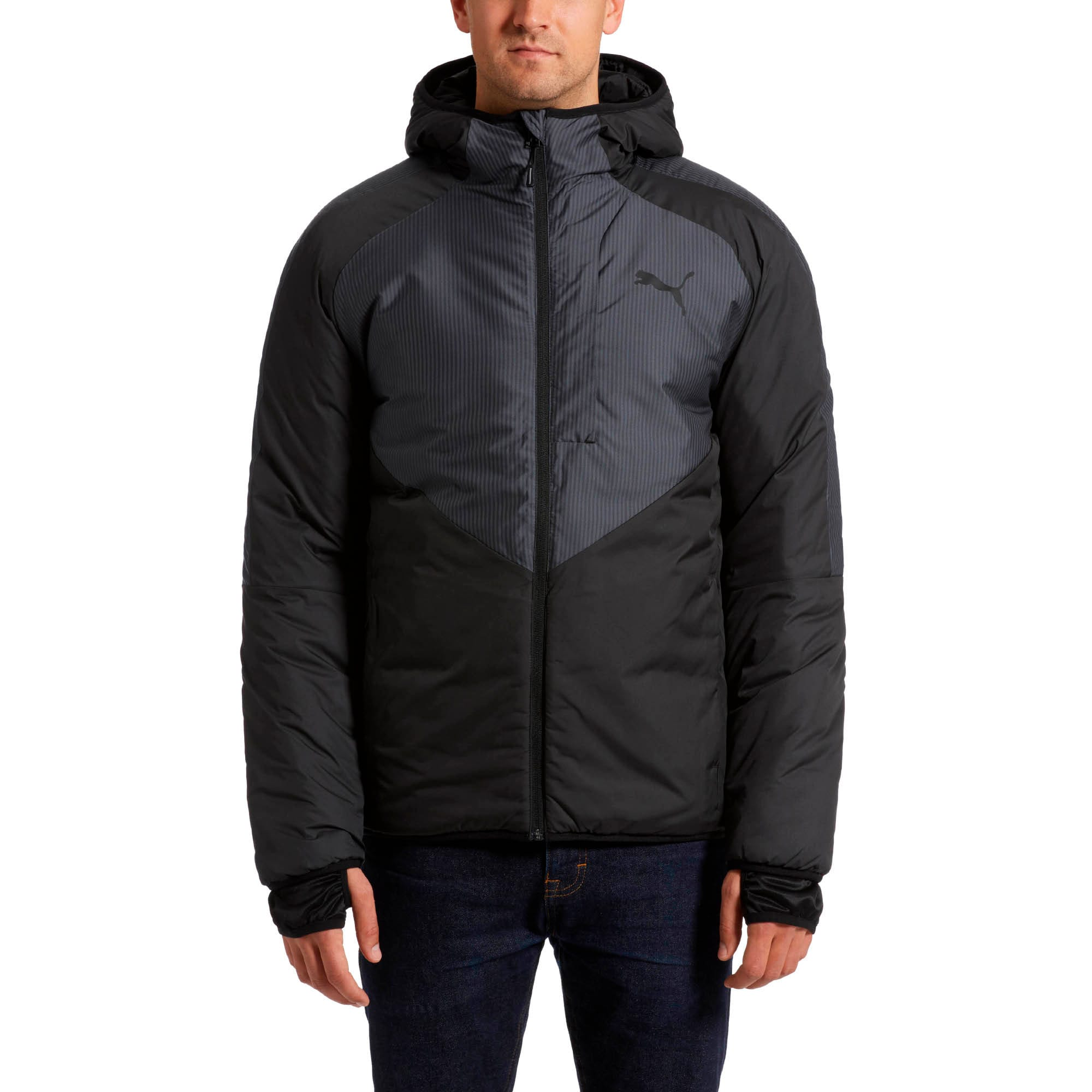 Thumbnail 2 of PWRWarm Men's Jacket, Puma Black, medium