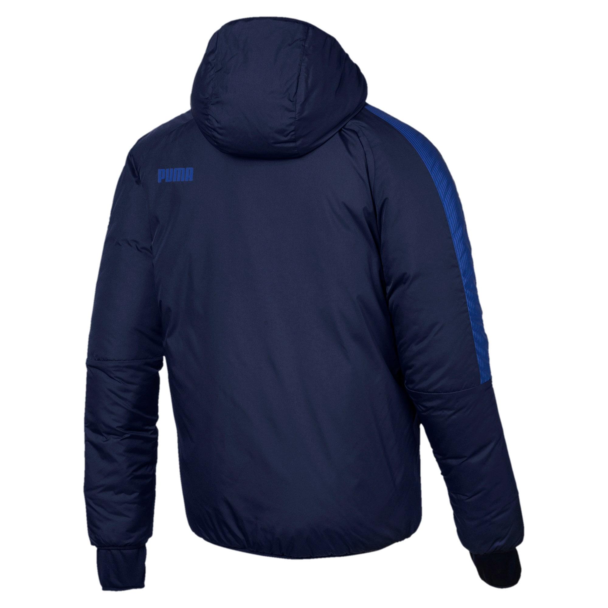 Thumbnail 3 of PWRWarm Men's Jacket, Peacoat, medium