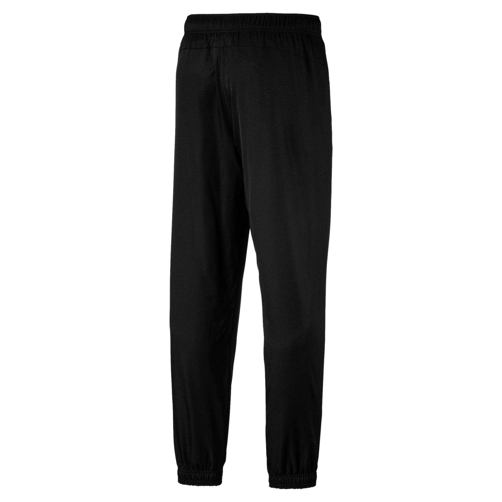 Thumbnail 2 of Active Woven Men's Sweatpants, Puma Black, medium