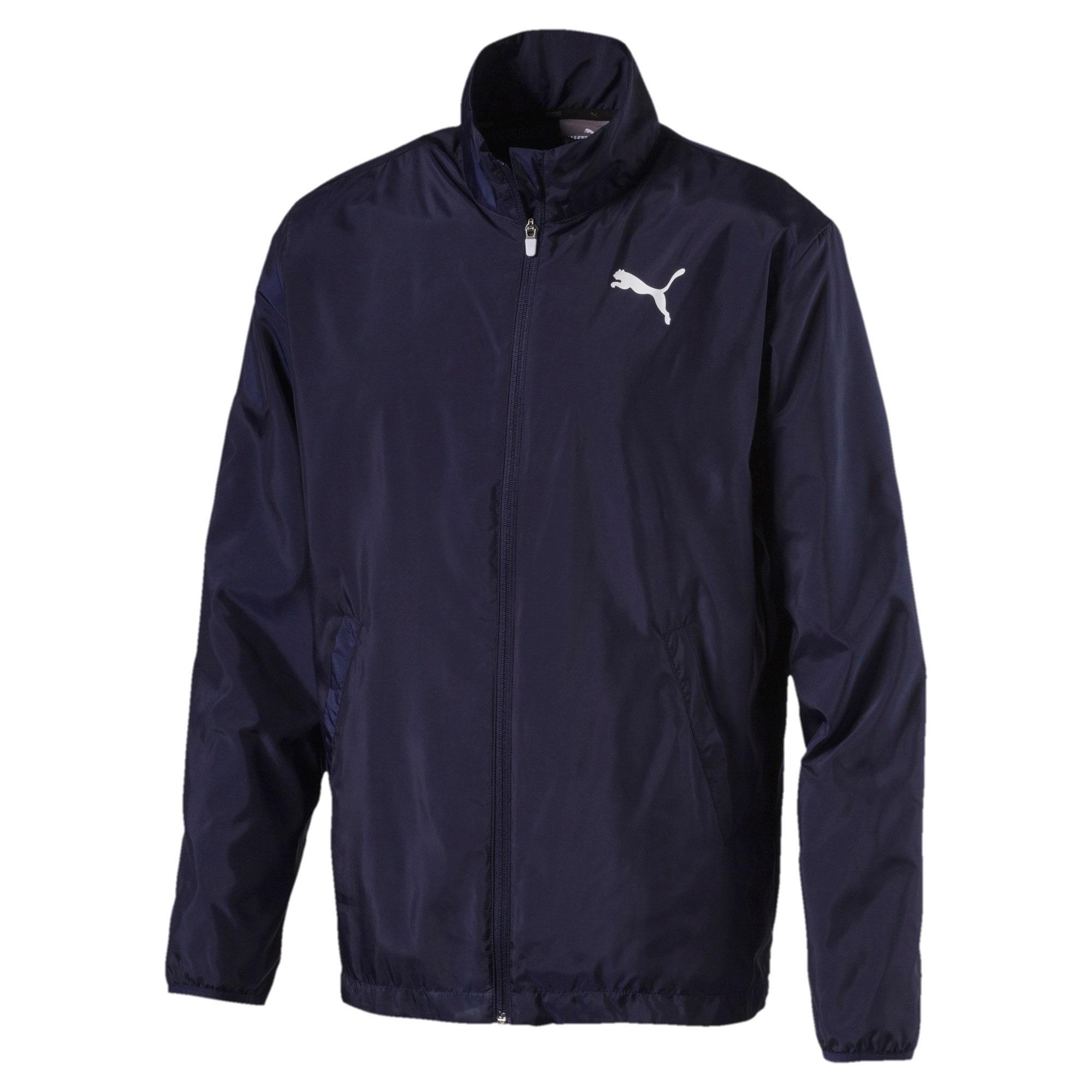 Thumbnail 1 of Active Full Zip Men's Jacket, Peacoat, medium