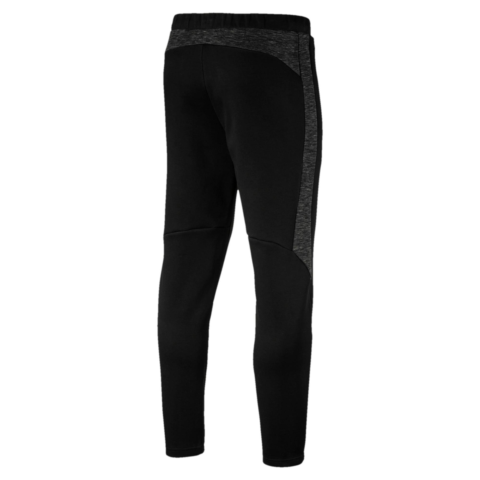 Thumbnail 3 of Evostripe Men's Pants, Cotton Black, medium