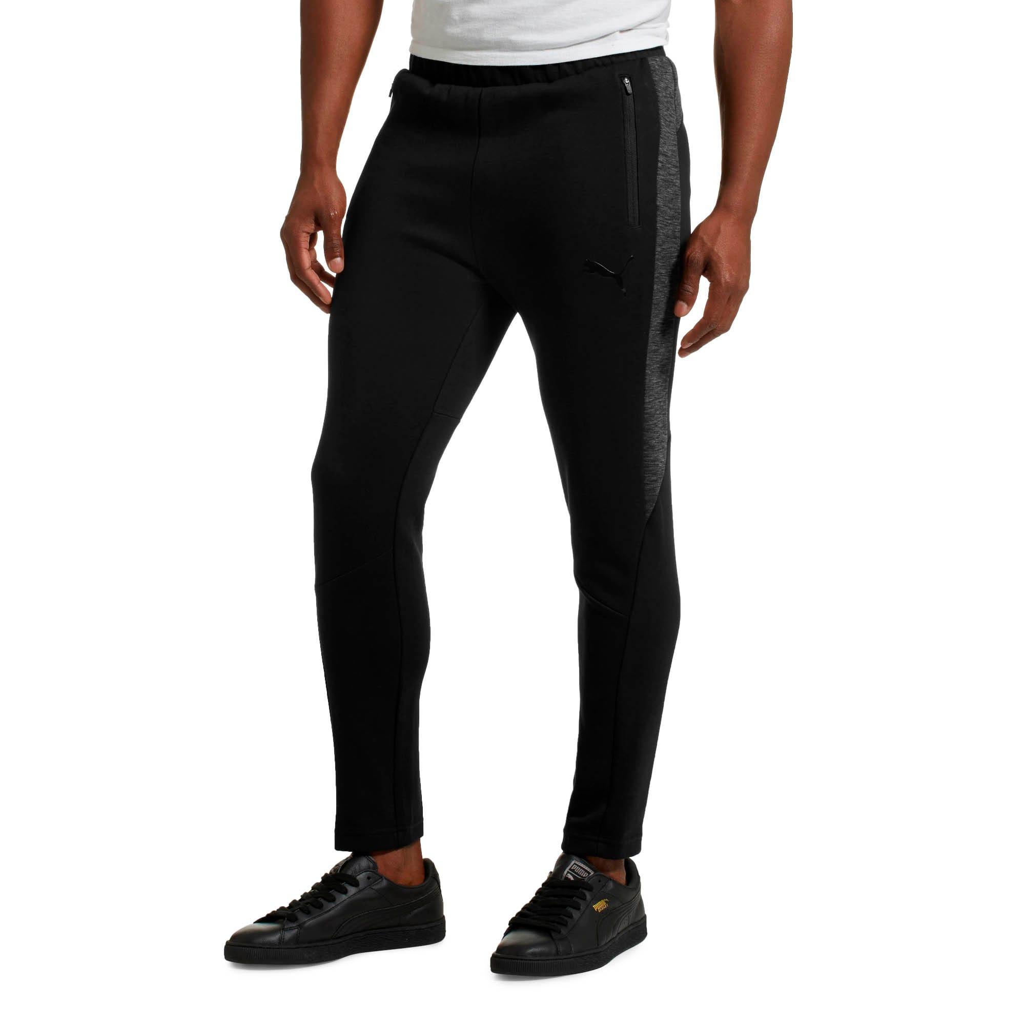 Thumbnail 2 of Evostripe Men's Pants, Cotton Black, medium