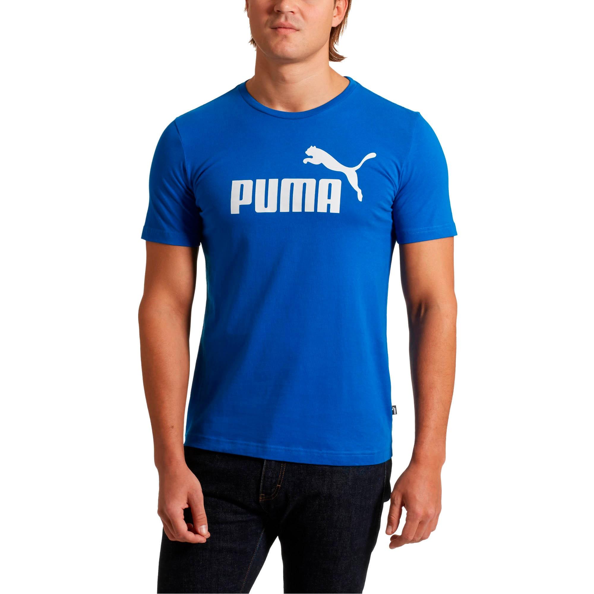 Thumbnail 1 of Essentials Men's Tee, Puma Royal, medium