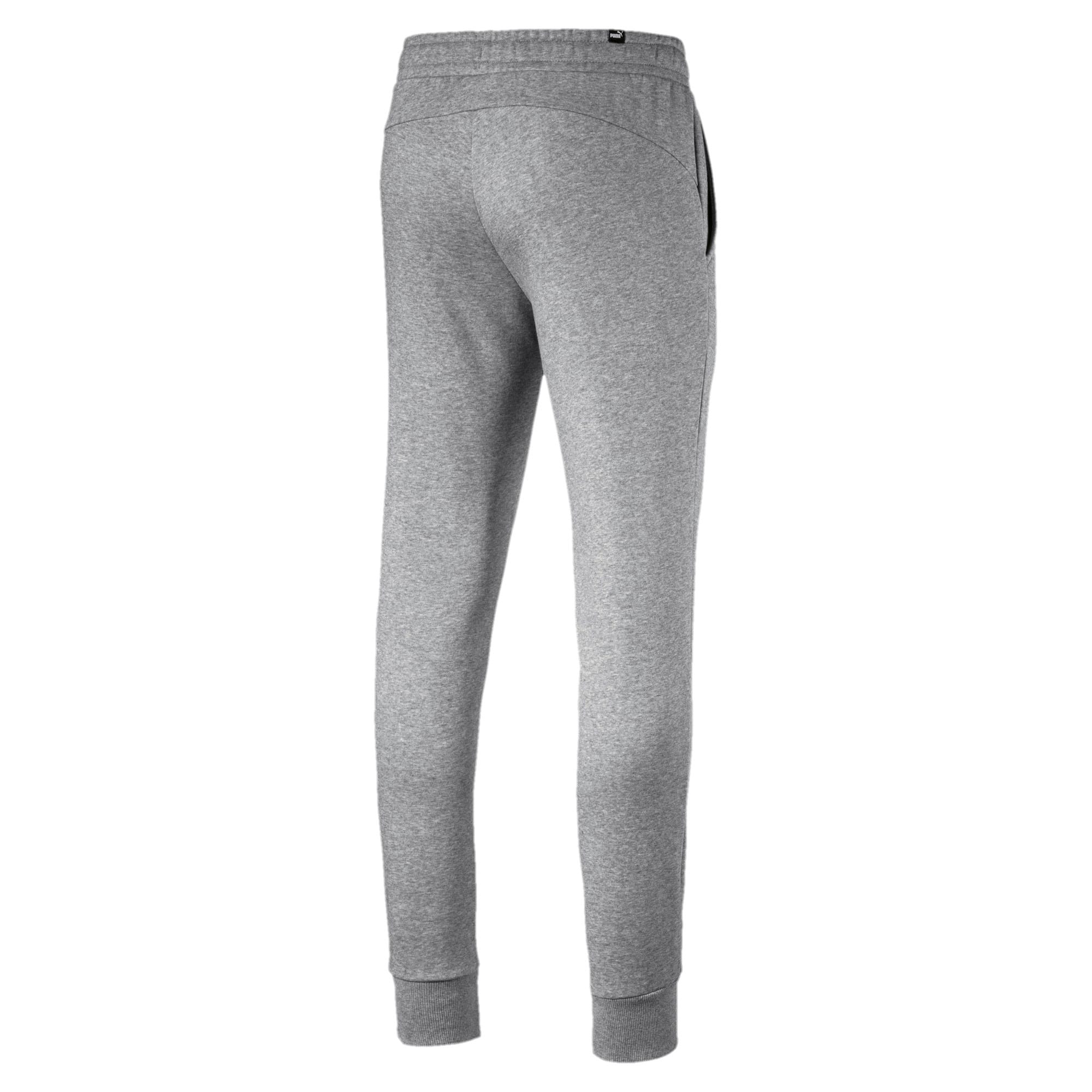 Thumbnail 3 of Essentials Men's Fleece Knit Pants, Medium Gray Heather, medium