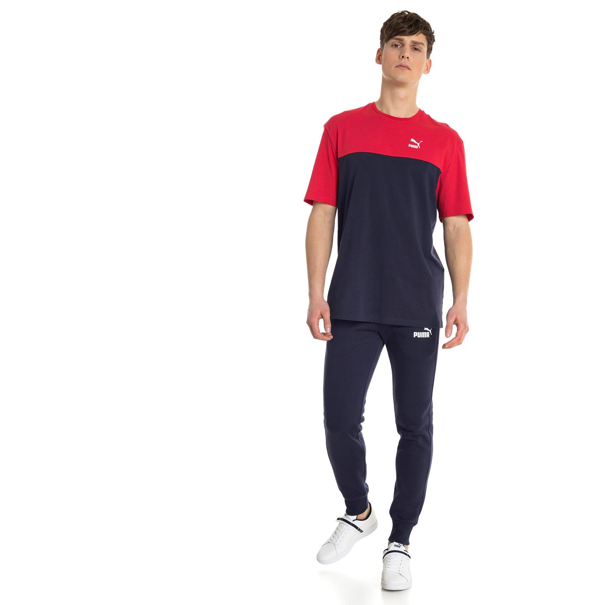 Miniatura 3 de Pantalones de polar Essentials para hombre, Peacoat, mediano