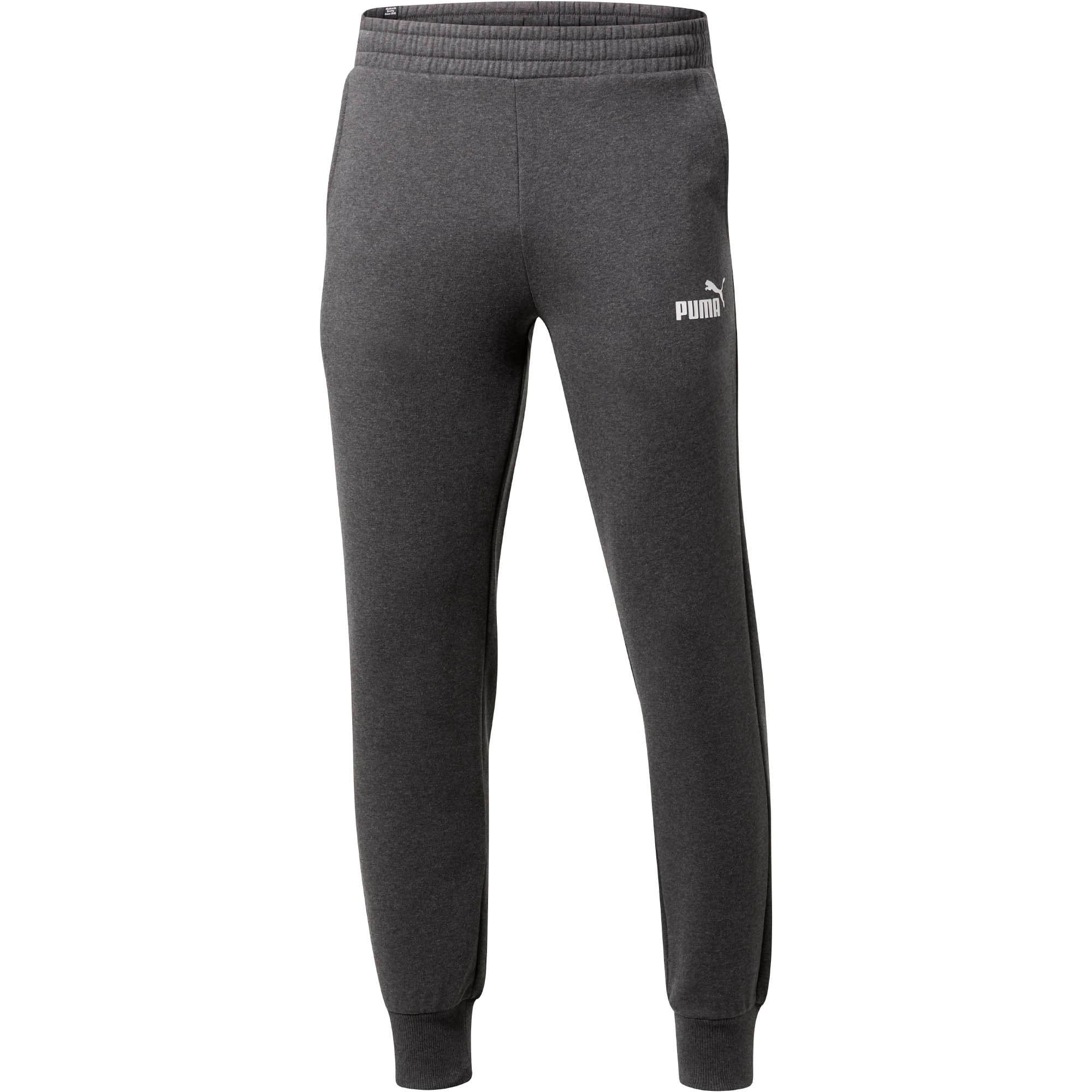 Thumbnail 1 of Essentials Men's Fleece Knit Pants, Dark Gray Heather, medium