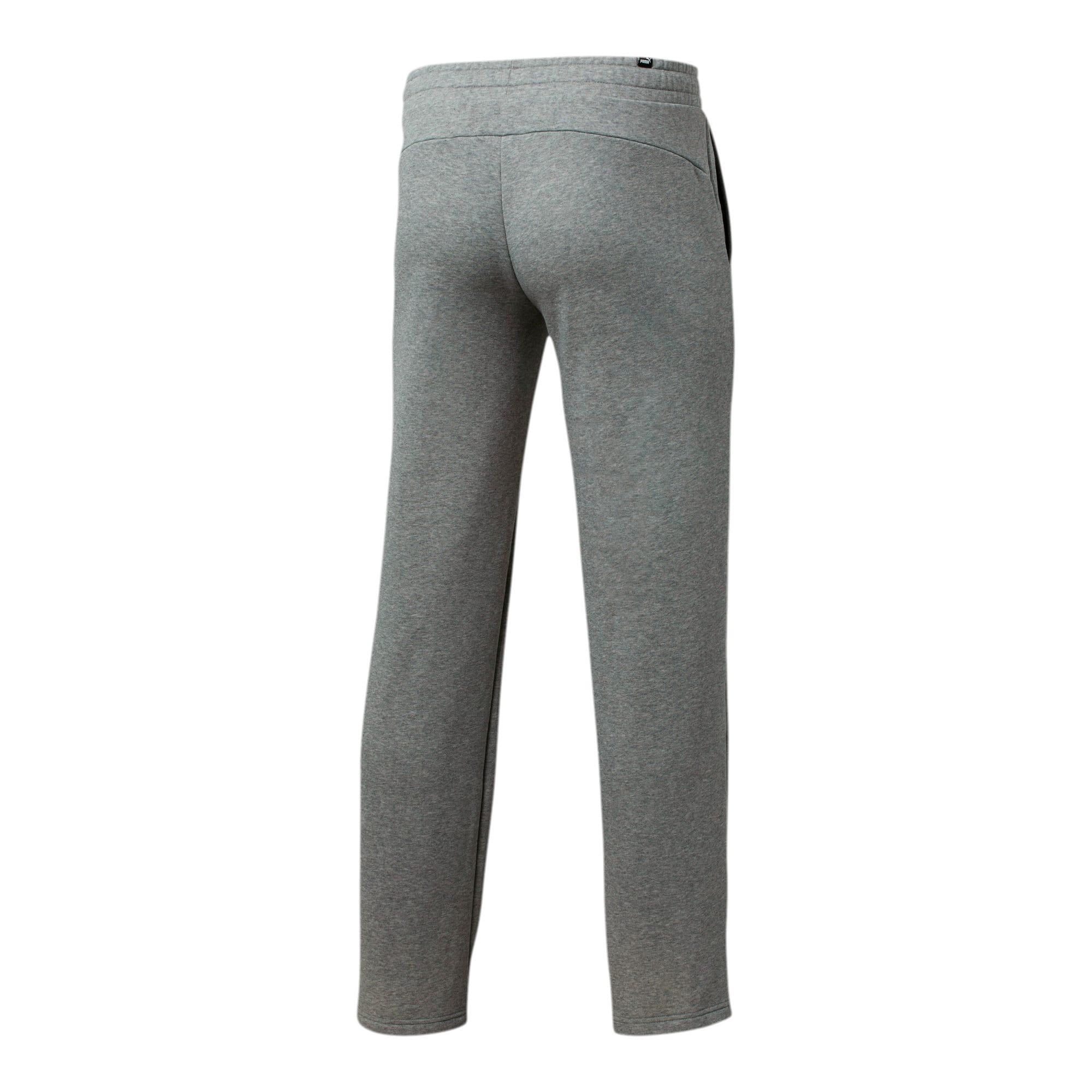 Thumbnail 2 of Essentials Men's Fleece Pants, Medium Gray Heather, medium